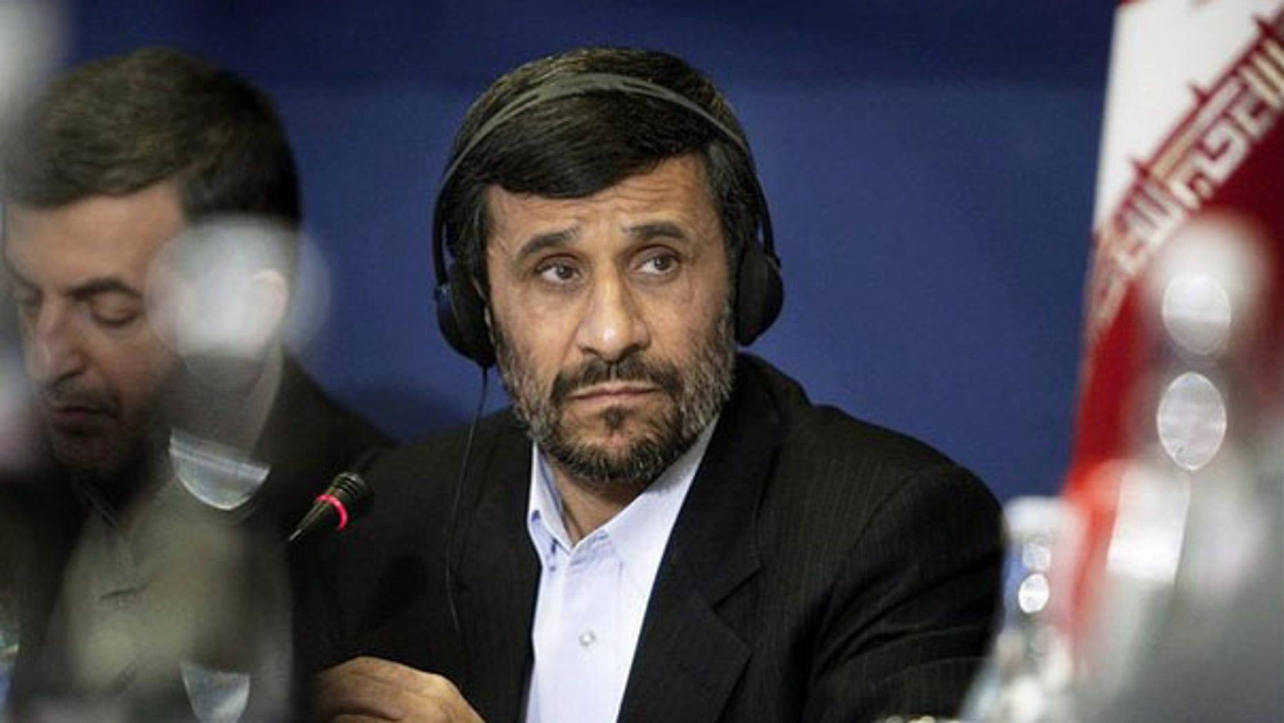 File: Iranian President Mahmoud Ahmadinejad. (Reuters)