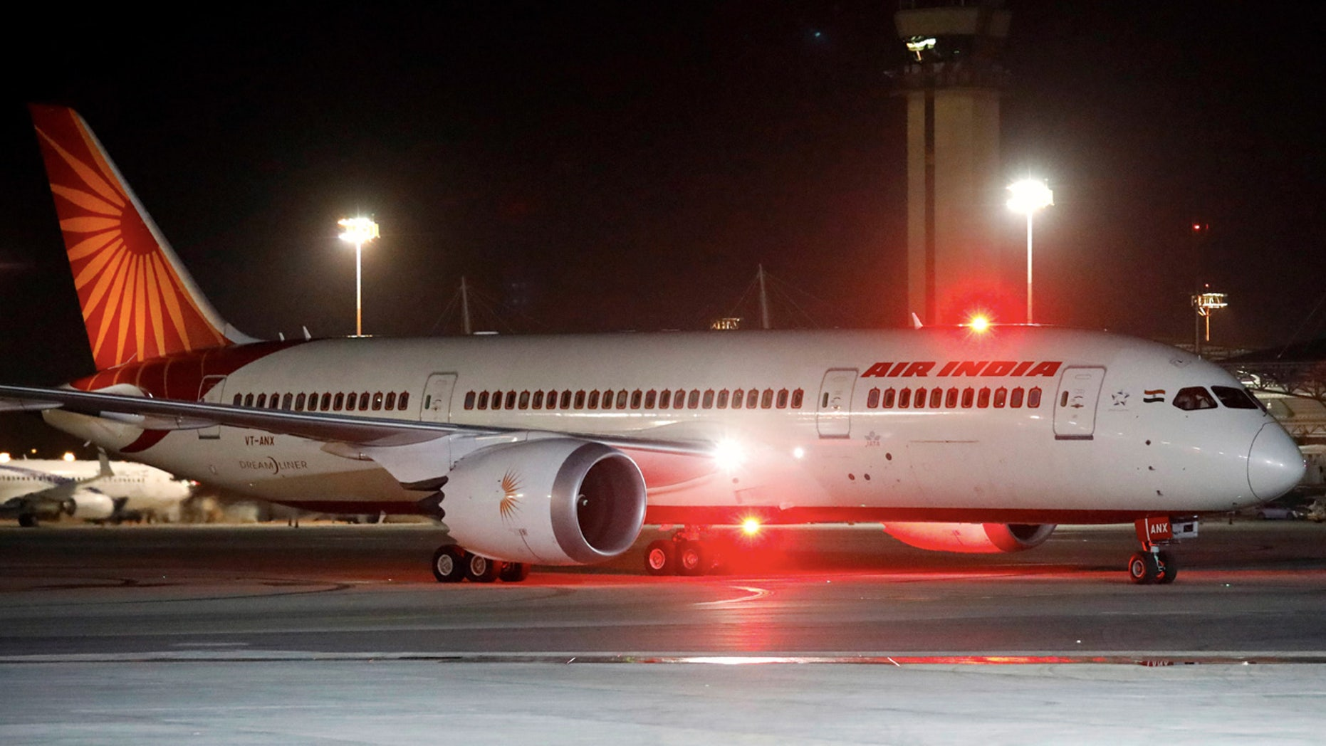 An Air India Boeing 787 is pictured last month.