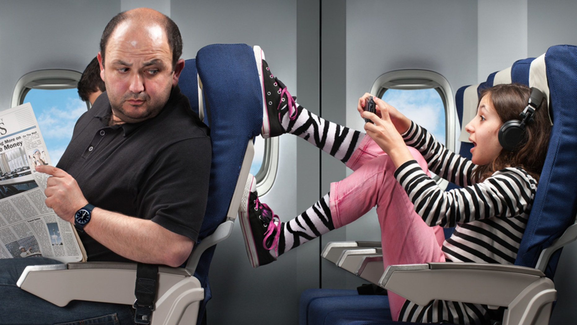 Airline passenger behavior is declining according to a new report.