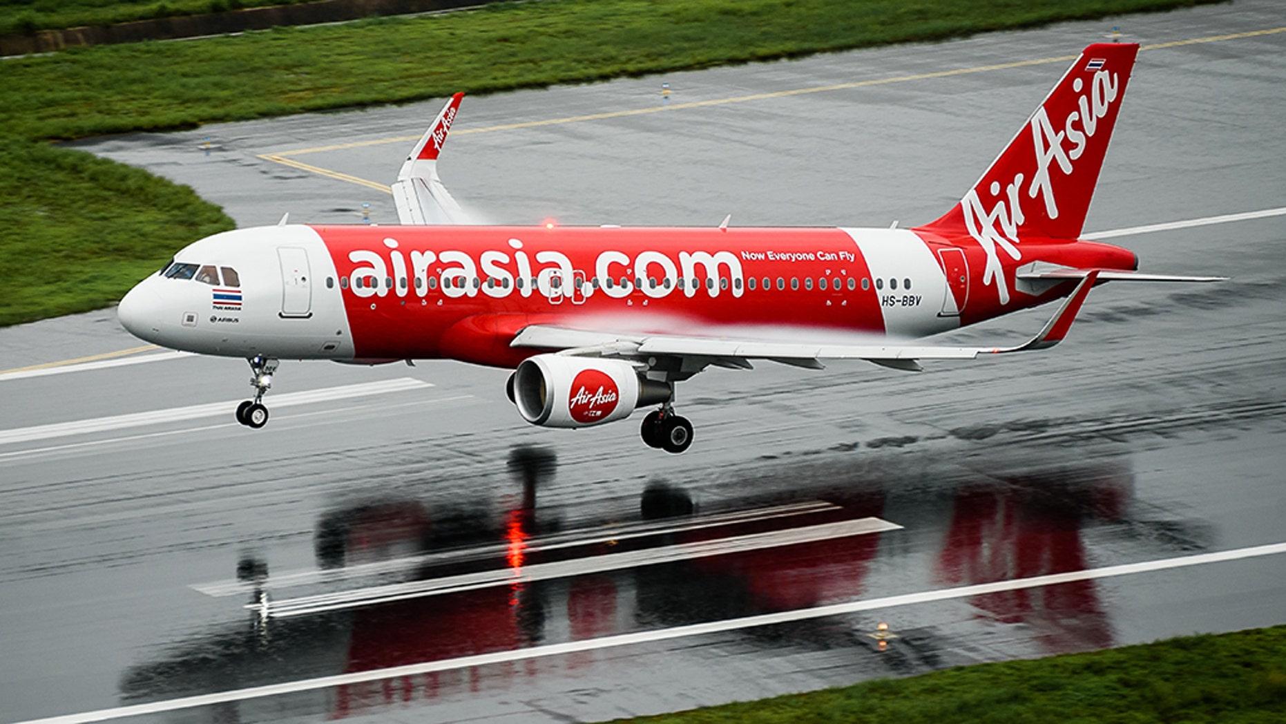 A lifeless newborn was found inside an AirAsia India airplane bathroom.