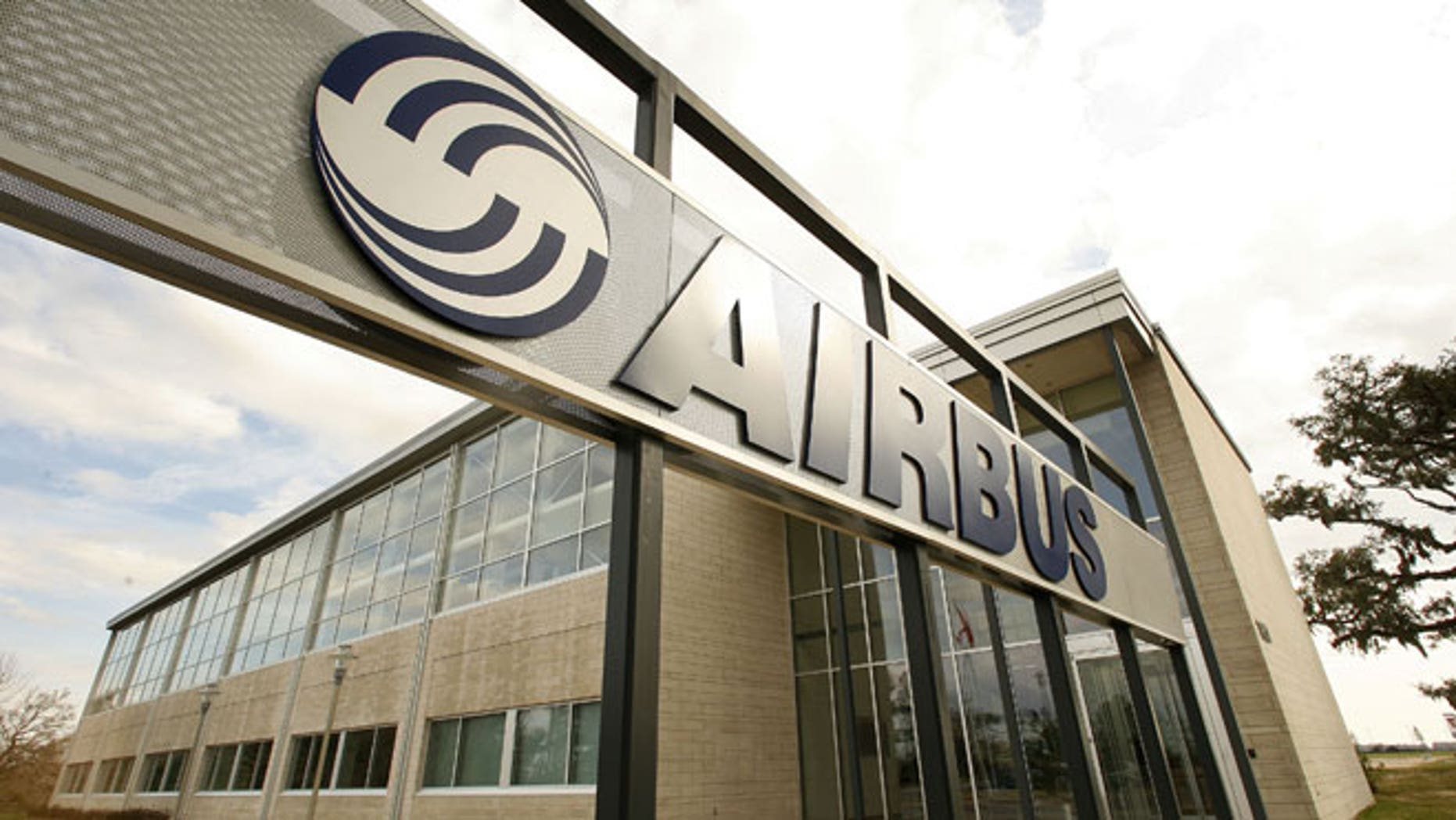 This Feb. 29, 2008 file photo shows the Airbus North America Engineering Center in Mobile, Ala. European plane maker Airbus intends to build its first U.S. plant in Mobile, Ala., a person with knowledge of its plans told The Associated Press.