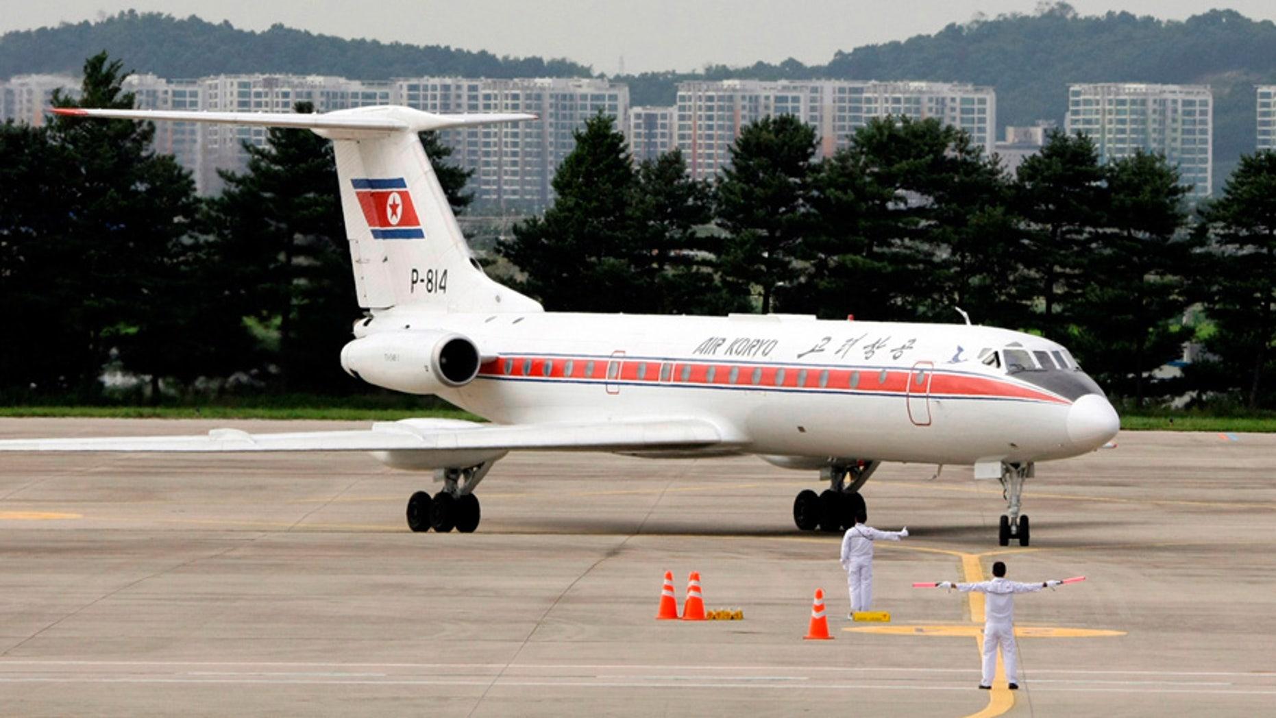 """In-flight food critics haven't been kind to Air Koryo's """"Koryo burger."""""""