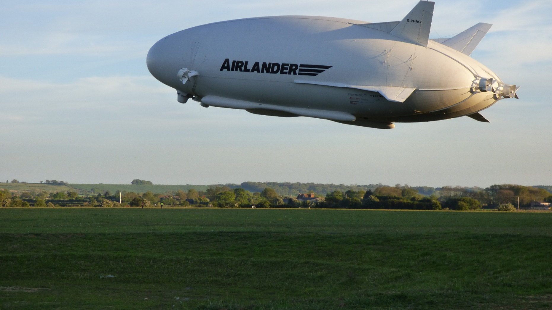 At a mammoth 302 feet (92 meters) long, the blimp-like Airlander 10 is the largest aircraft currently flying.