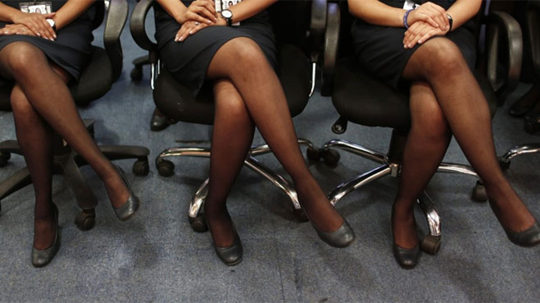 An email sent to employees last week revealed the new protocol that requires them to wear high heels until every passenger has boarded and is seated.