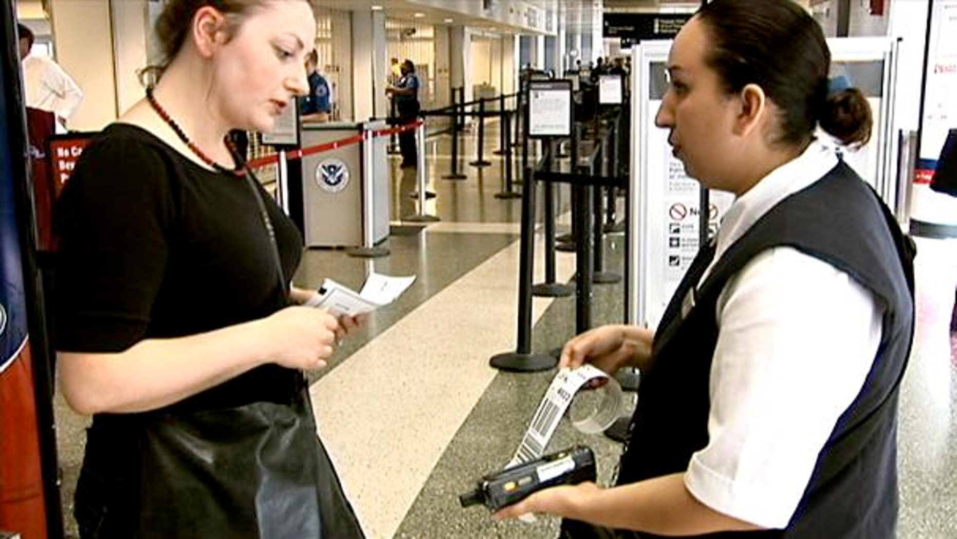 Remember the day when there was a person whose main job was to check baggage tags?