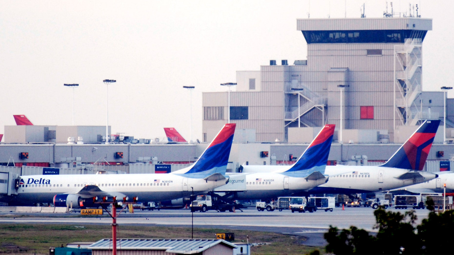 Planes At Hartsfield-Jackson International Airport in Atlanta.
