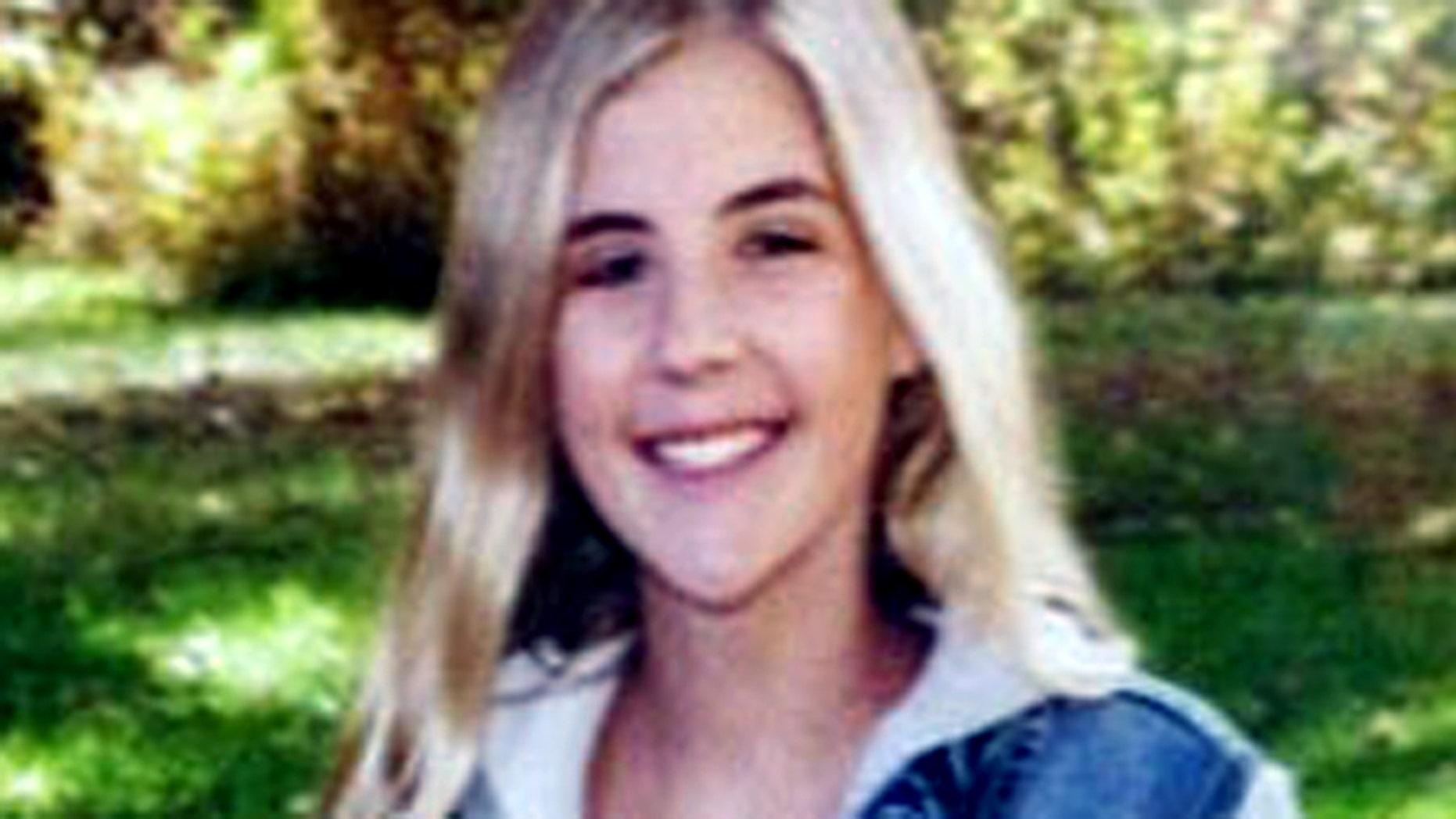 Aislynn Merritt, 14, is battling brain cancer.