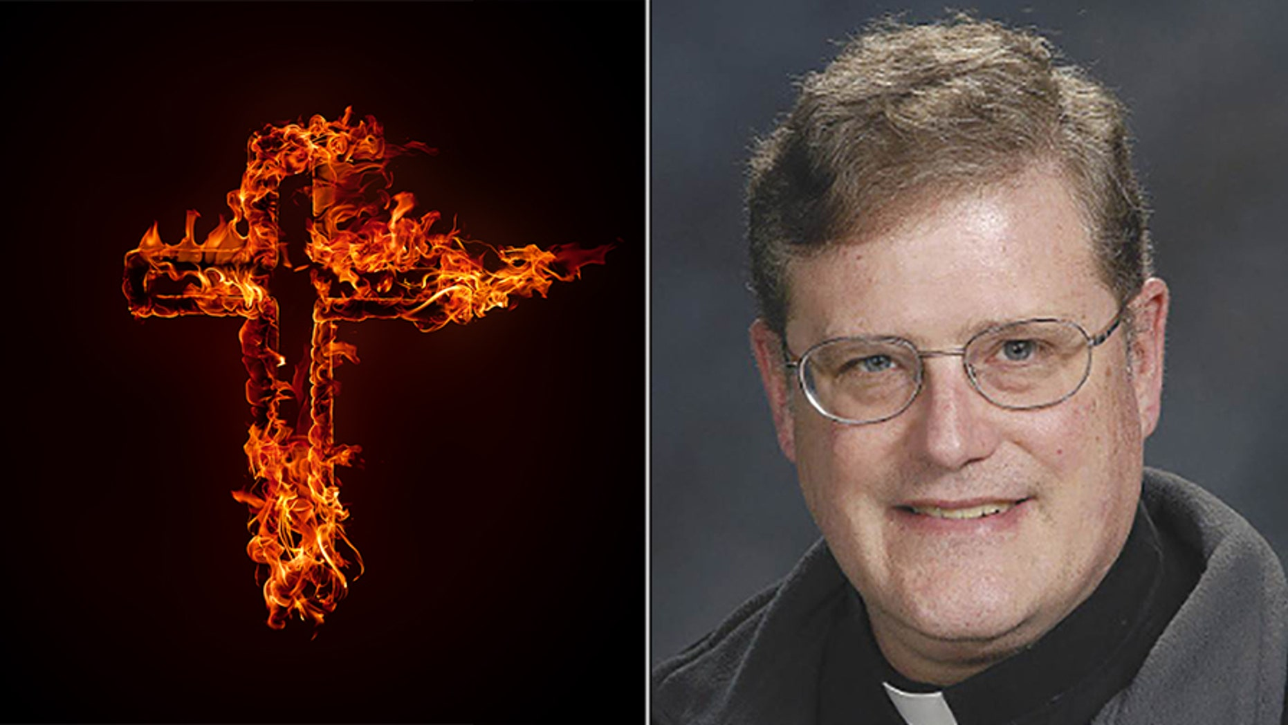 The Rev. William Aitcheson, a priest in the Roman Catholic Diocese of Arlington, Virginia. Catholic Diocese of Arlington