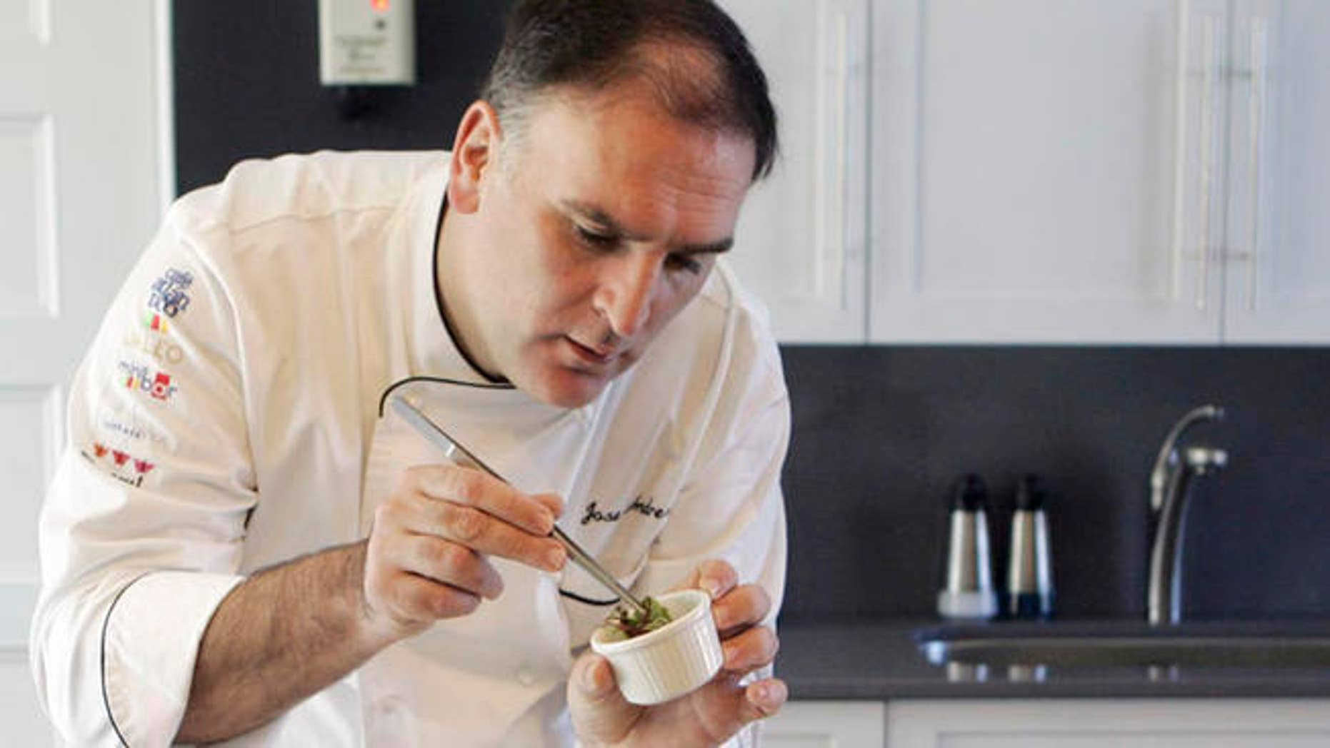 Jose Andres' ThinkFoodGroup is being sued by the Trump Organization.