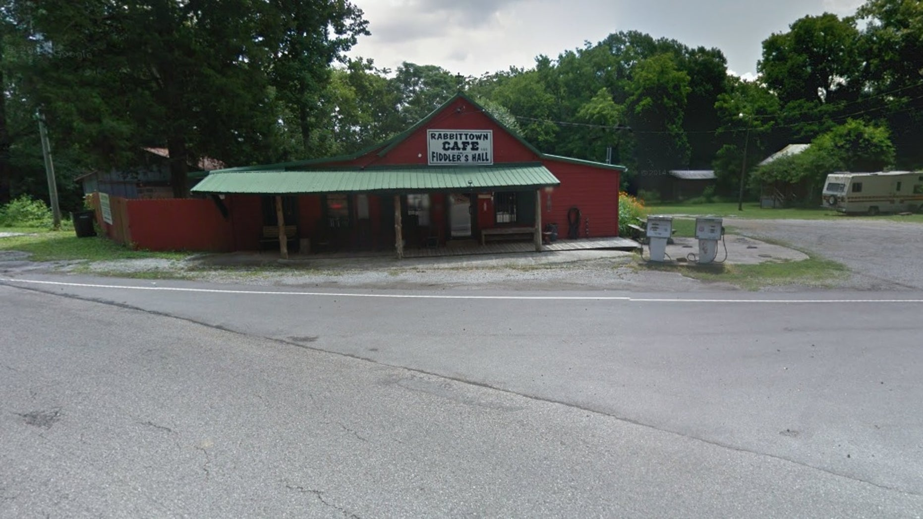 A man shot and killed himself in the parking lot of a general store in Calhoun County, Alabama, after killing his family at their home, according to the sheriff.