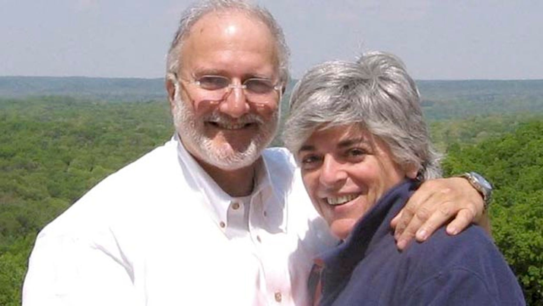 Alan Gross and his wife, Judy. Gross, a 61-year-old Maryland native, was arrested in 2009 by Cuban authorities and charged with undermining the Cuban government by bringing communications equipment onto the island illegally.
