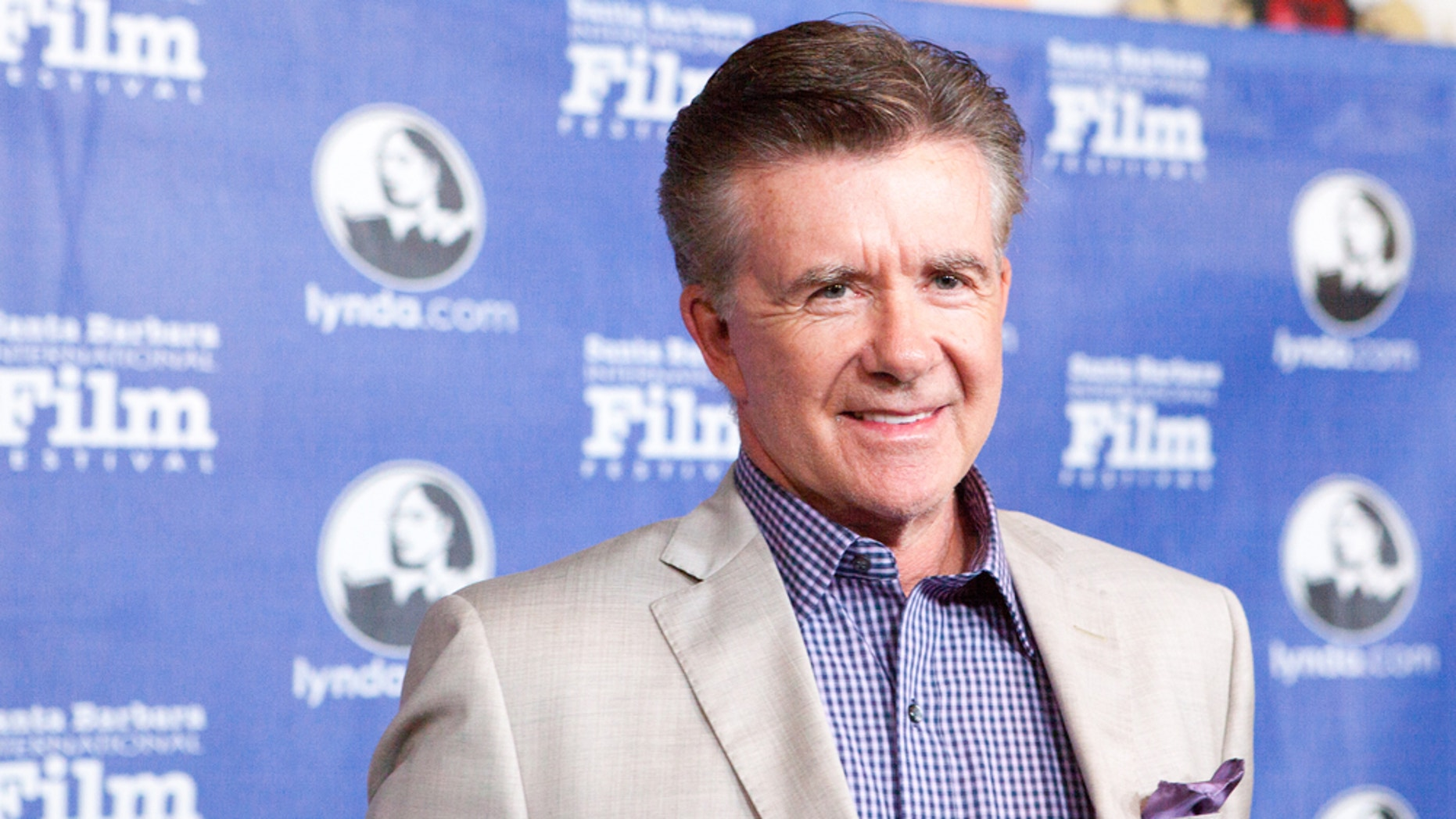 Actor Alan Thicke at the opening of the Santa Barbara International Film Festival in 2013.