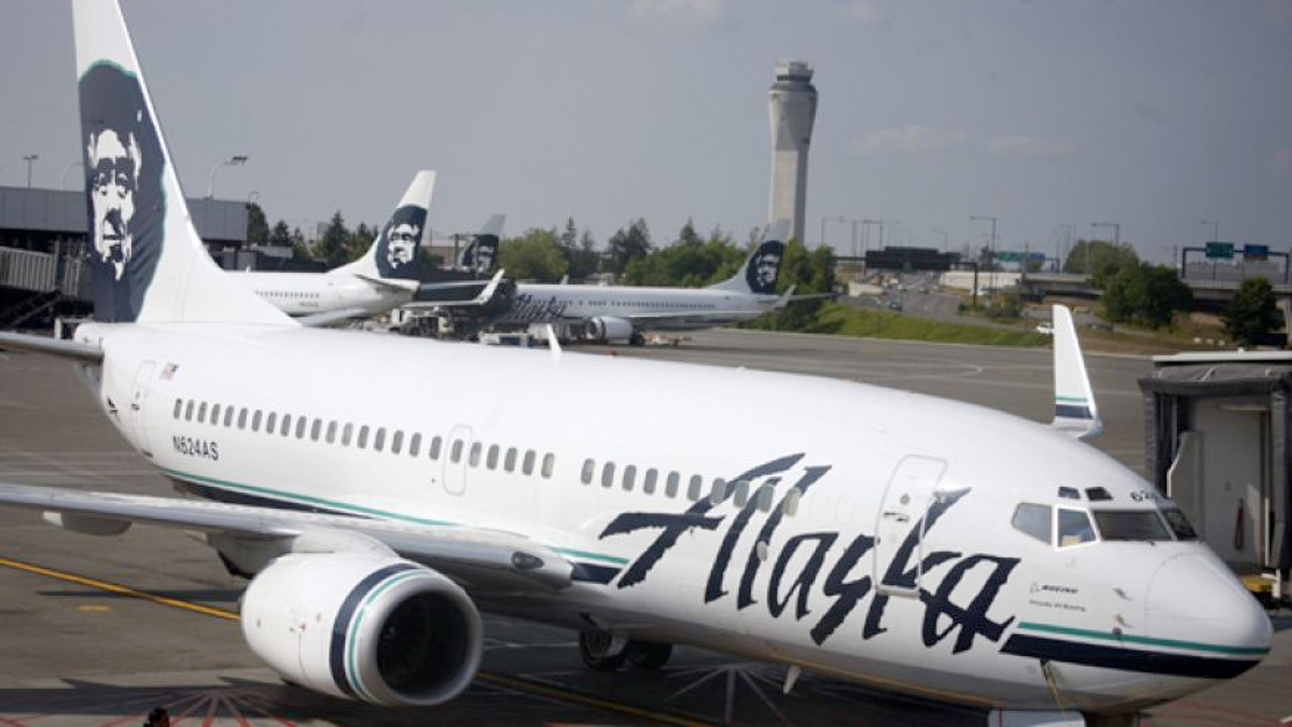 Alaska Airlines Testing Eye Scan Fingerprint Tech To