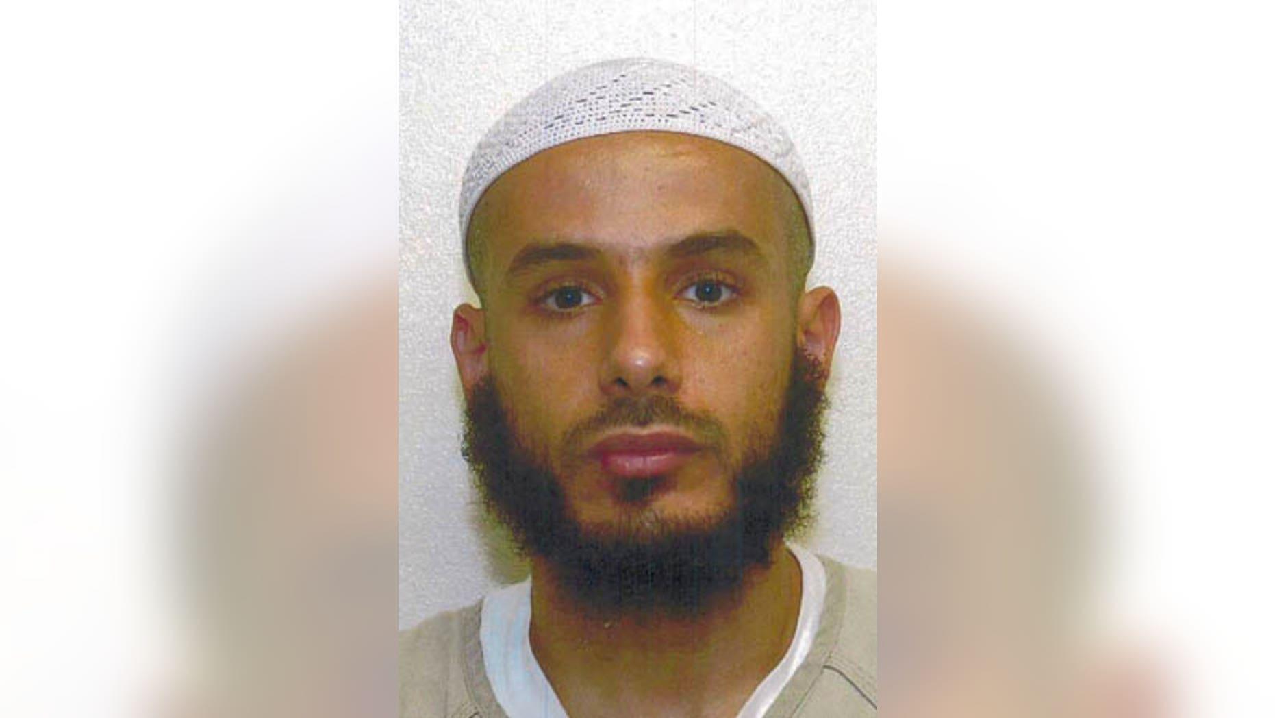 This Sept. 17, 2007 photo shows detainee Fouzi Khalid Abdullah al-Awda at Guantanamo Bay.