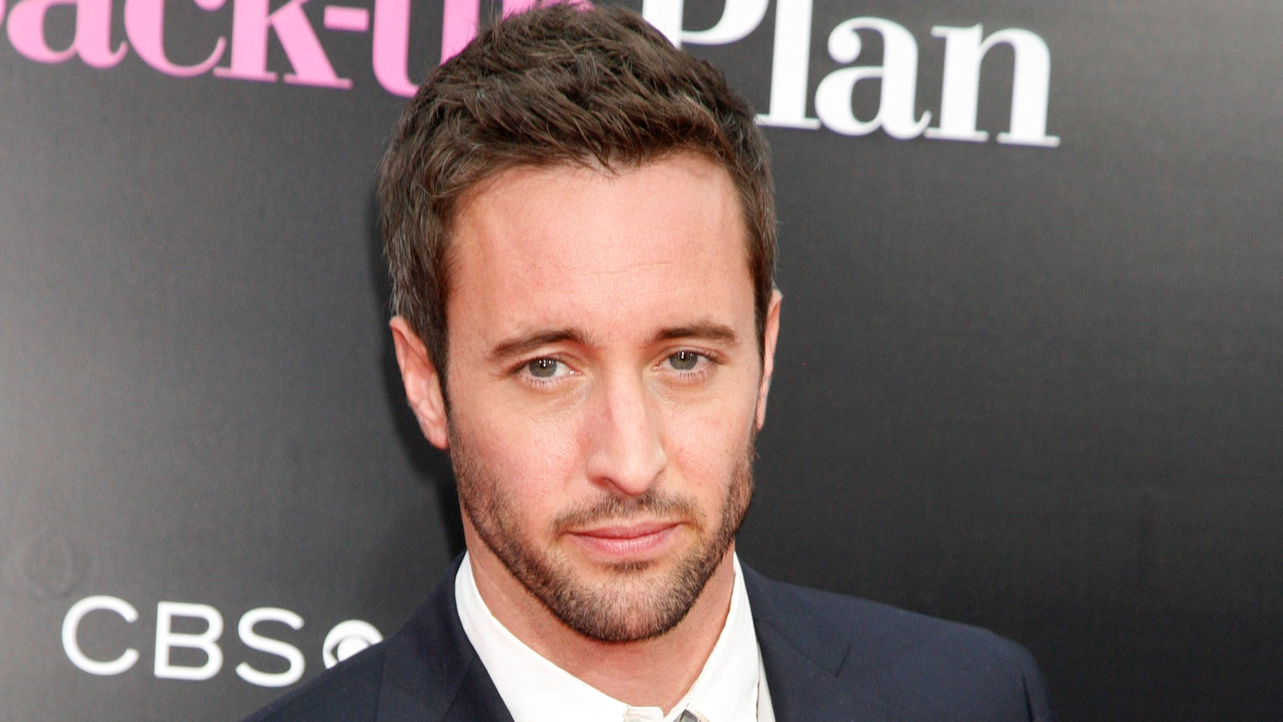 """April, 21, 2010. Alex O'Loughlin arrives for the premiere of the film  """"The Back-up Plan"""" in Los Angeles, California."""