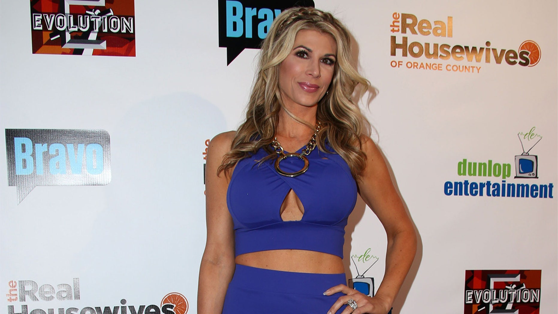 """Former """"Real Housewives of Orange County"""" star Alexis Bellino's husband files for divorce."""