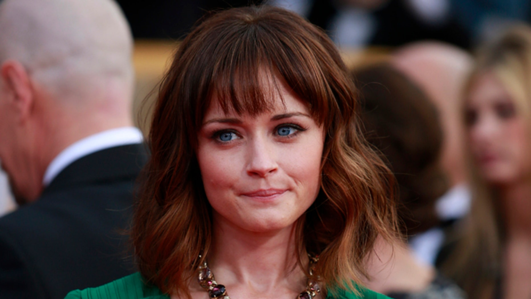 """Alexis Bledel addressed speculation that another """"Gilmore Girls"""" season is in the works."""
