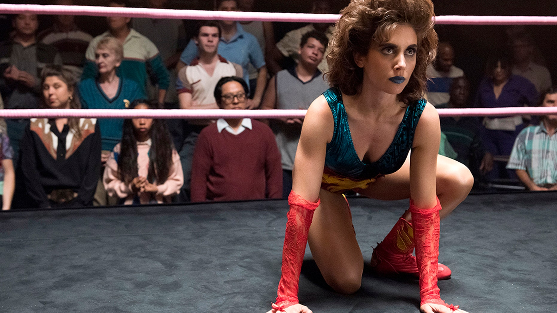"""Alison Brie in the Netflix series """"GLOW."""""""