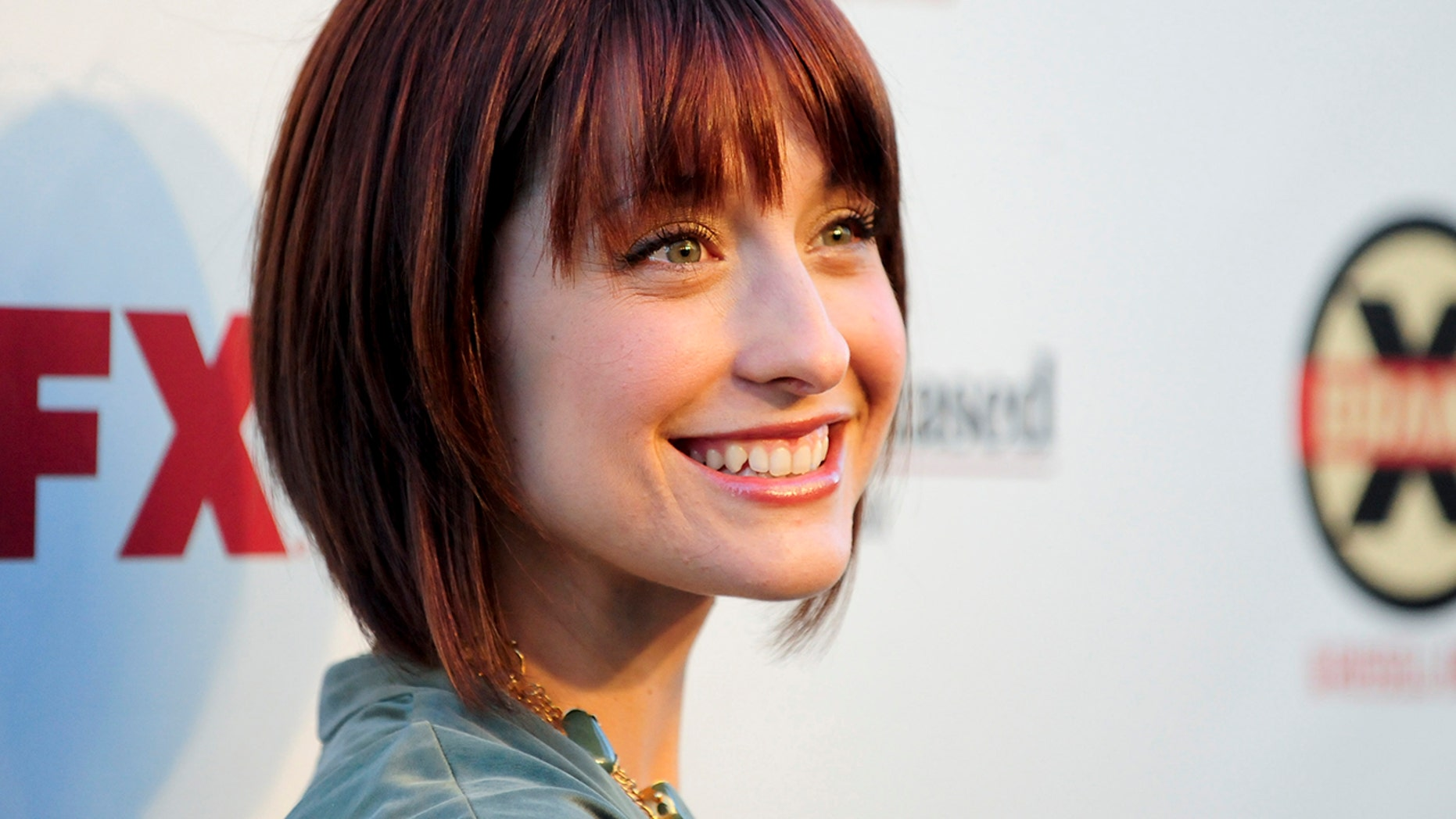 Actress Allison Mack arrives at the Hollywood FX Summer Comedies Party in Los Angeles, California June 26, 2012.
