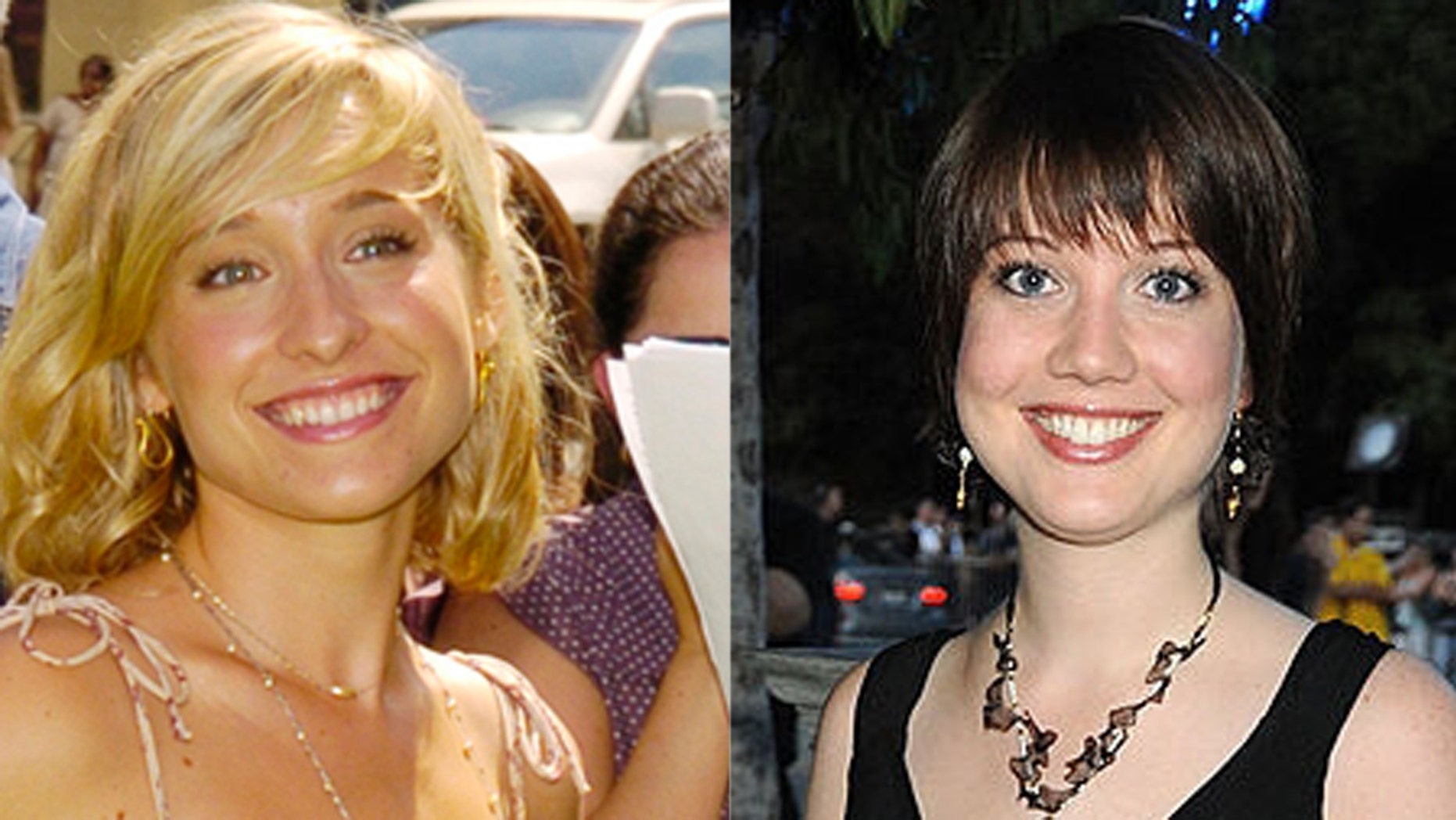 Allison Mack (L) and Nicki Clyne (R) allegedly married each other on the orders of Keith Raniere.