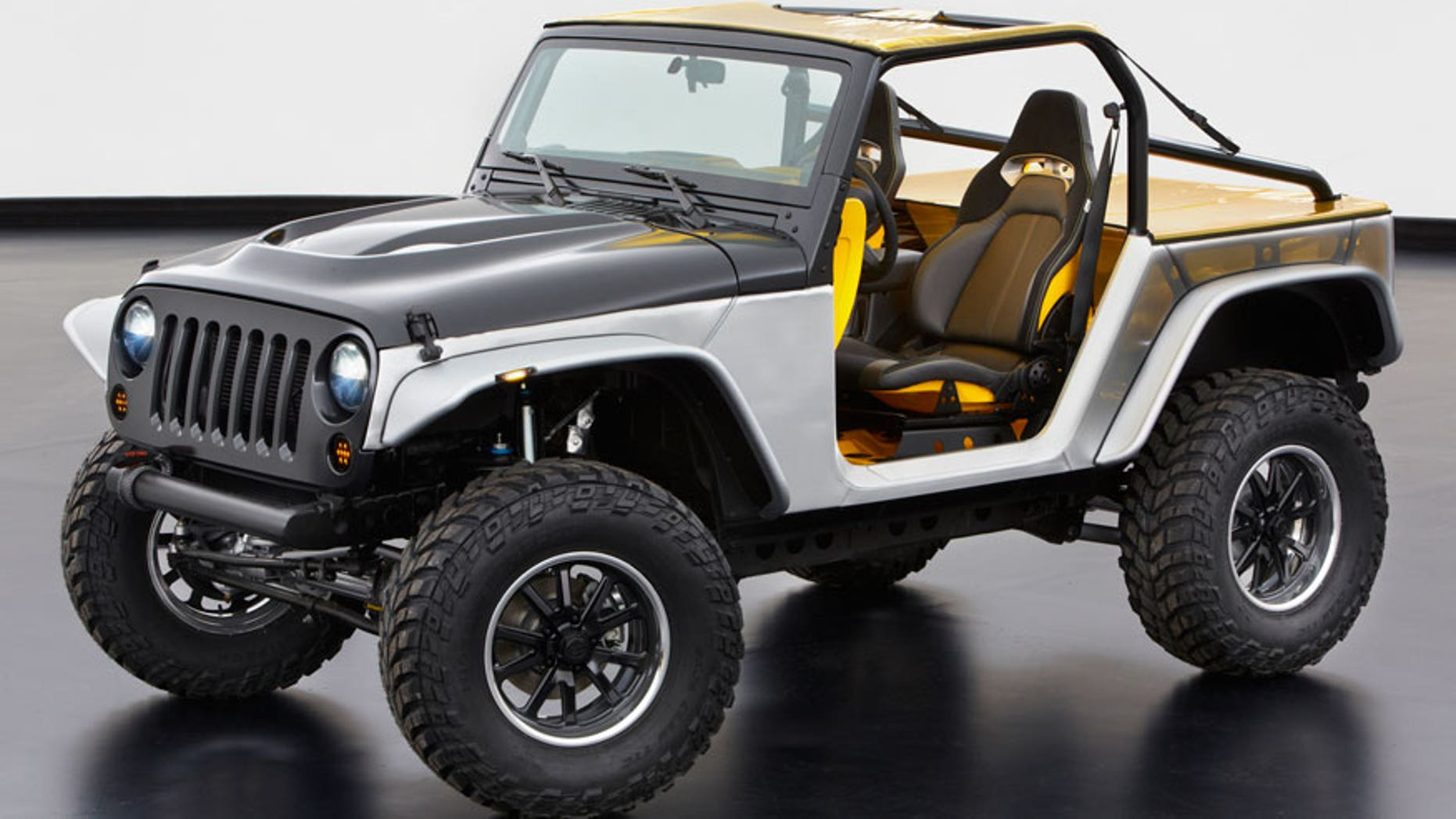 Jeep Wrangler Stitch concept