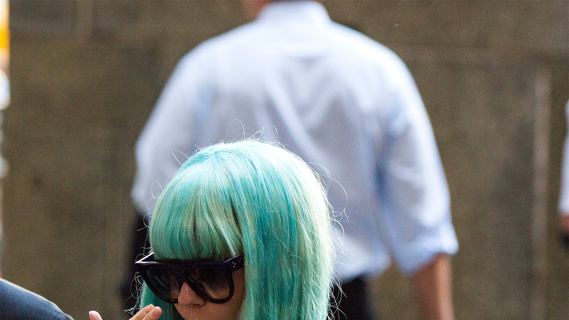 July 9, 2013. Amanda Bynes arrives for a court hearing at Manhattan Criminal Court in New York, July 9, 2013. Bynes is charged with reckless endangerment and attempted tampering with physical evidence.