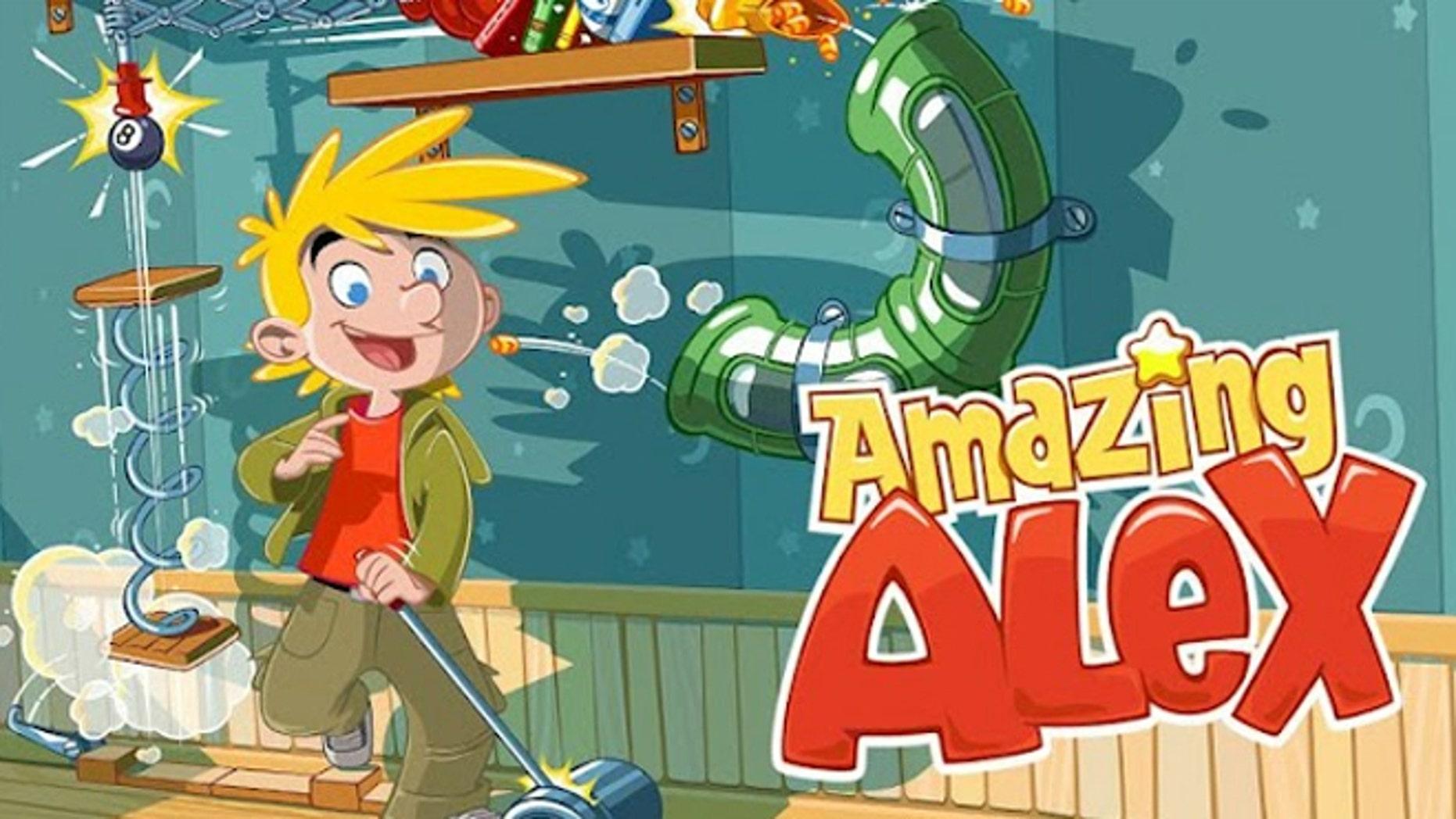 Rovio's latest mobile game Amazing Alex is already losing momentum.