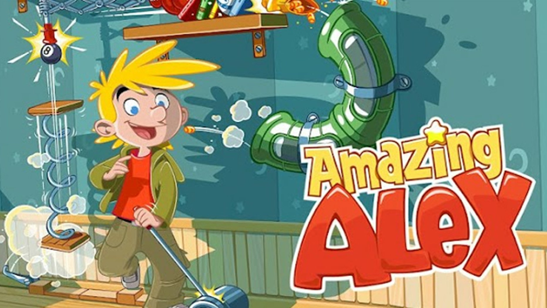 Can Rovio's new game Amazing Alex repeat the success of Angry Birds?