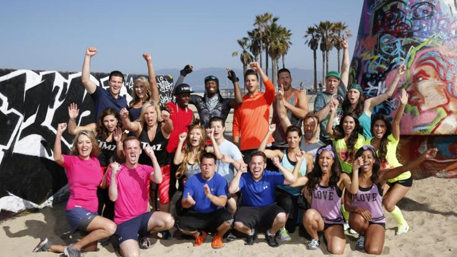 "The cast of season 27 of ""The Amazing Race"" includes a team of TMZ co-workers, former New York Jets cheerleaders, doctors, teachers, retail managers and are paired in combinations that include a mother and son, siblings and best friends."