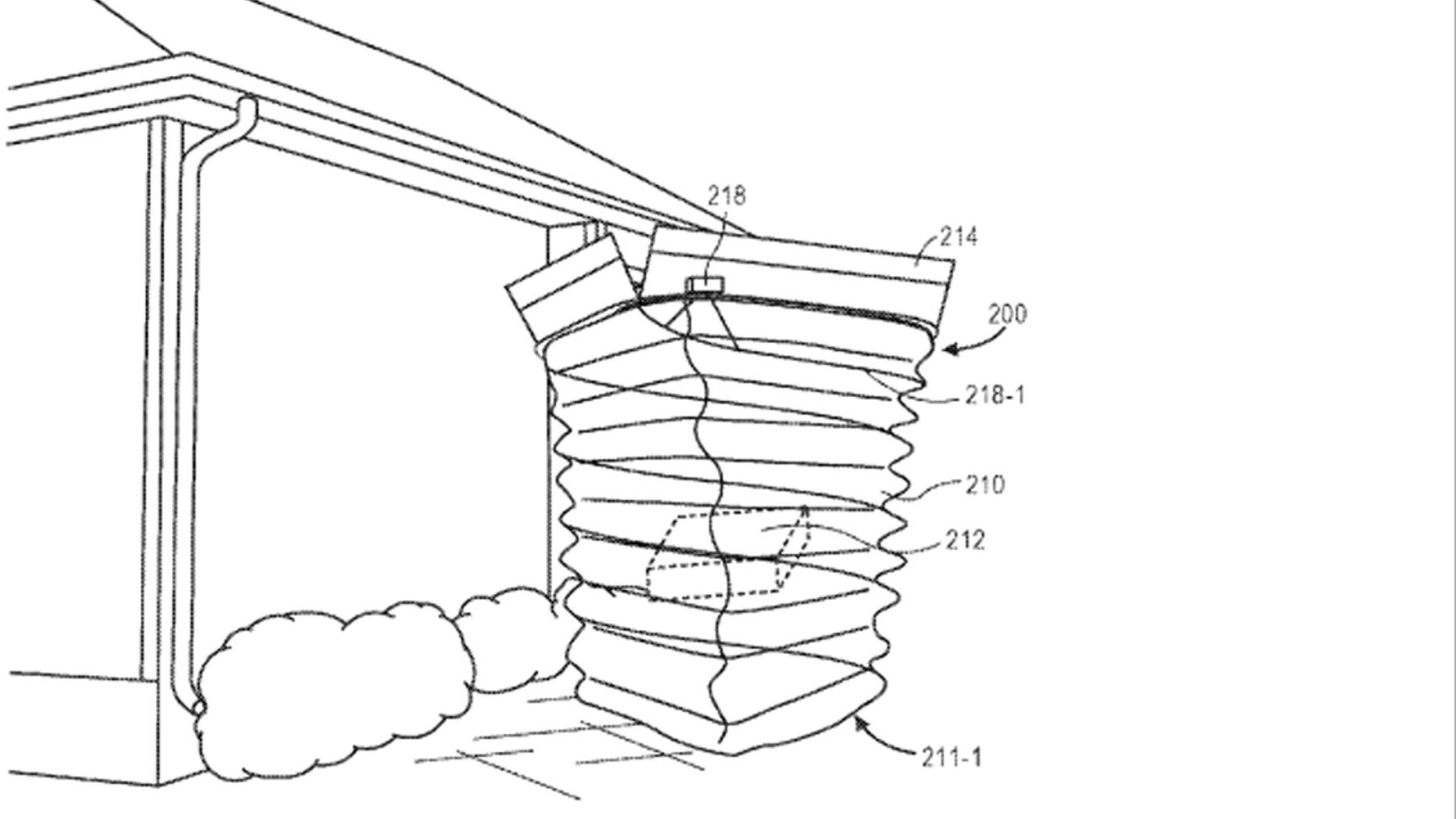 Amazon patent. (Credit: USPTO)