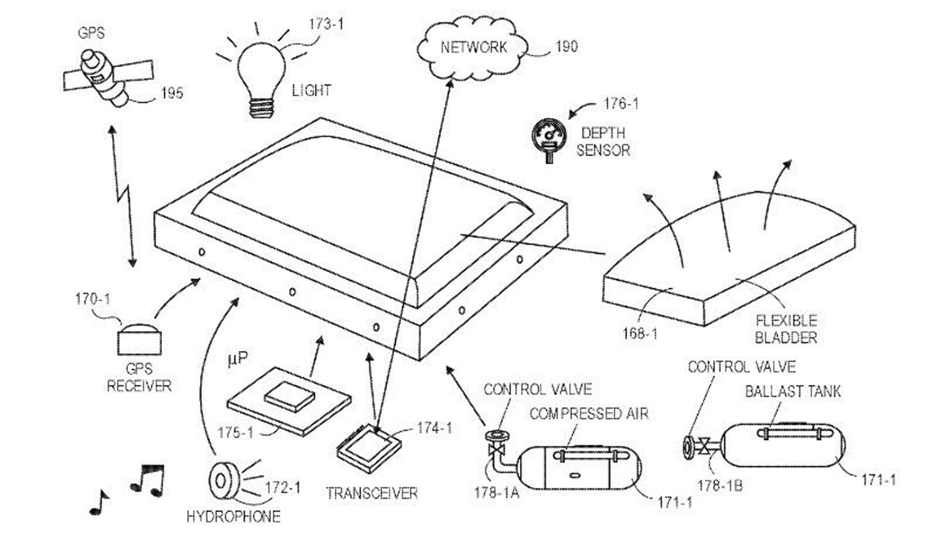 Amazon patent, (Credit: USPTO)