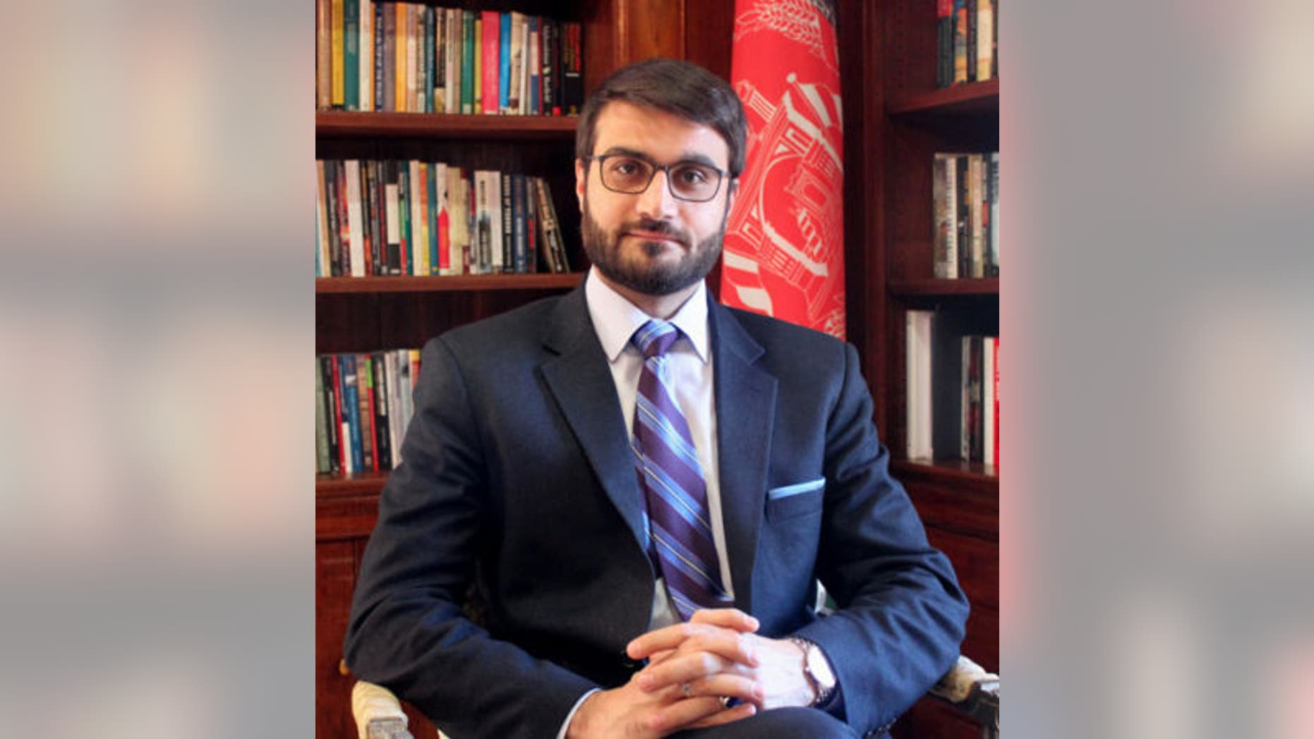 Afghanistan's Ambassador to the United States, Hamdullah Mohib