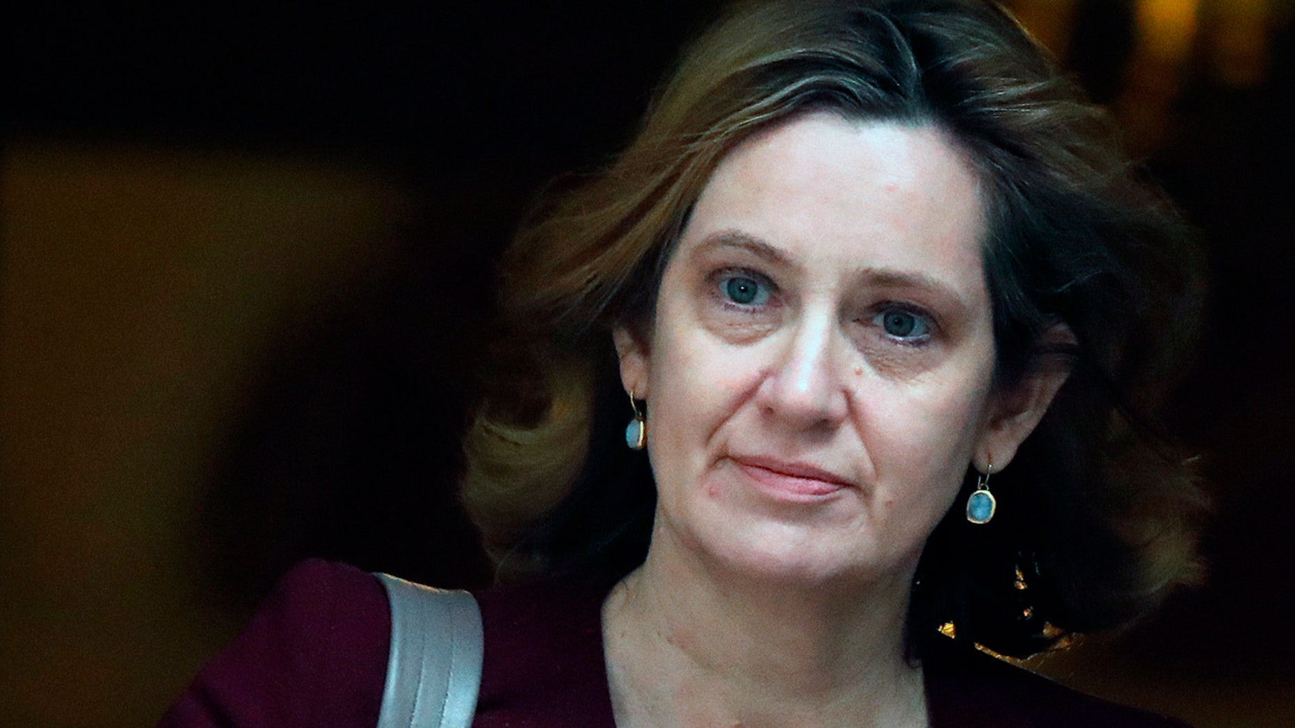 Home Secretary Amber Rudd, pictured in March, submitted her resignation to Prime Minister Theresa May Sunday evening.