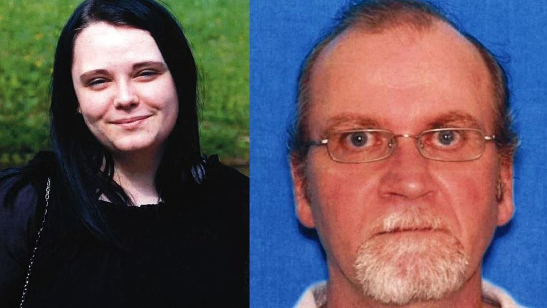 The FBI said 17-year-old Grace Galliher was traveling with a 52-year-old Richard Tester.