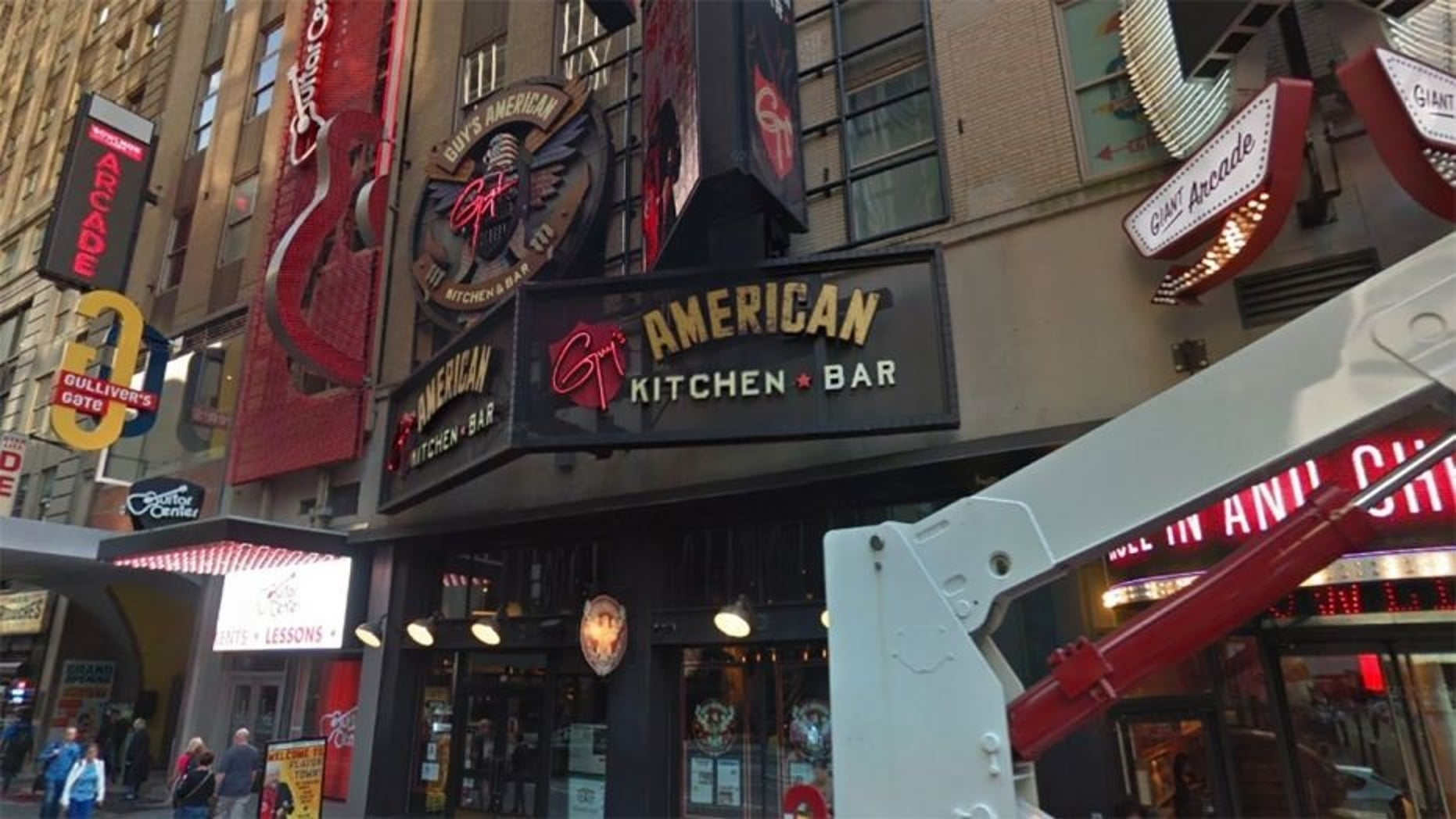 Guy Fieri's American Kitchen & Bar reportedly closed due to high rent.