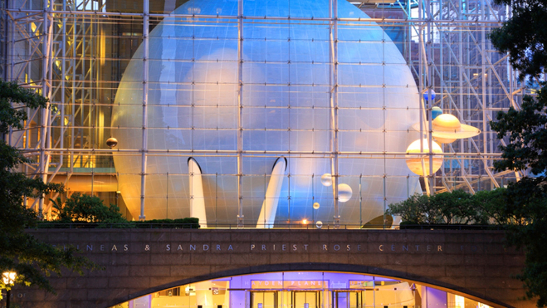 The Rose Center for Earth and Space at the American Museum of Natural History in New York