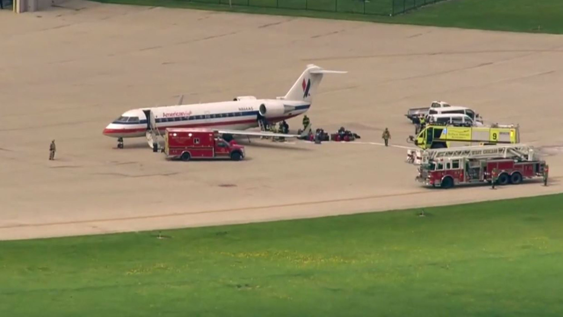 American Airlines Flight Makes Emergency Landing At