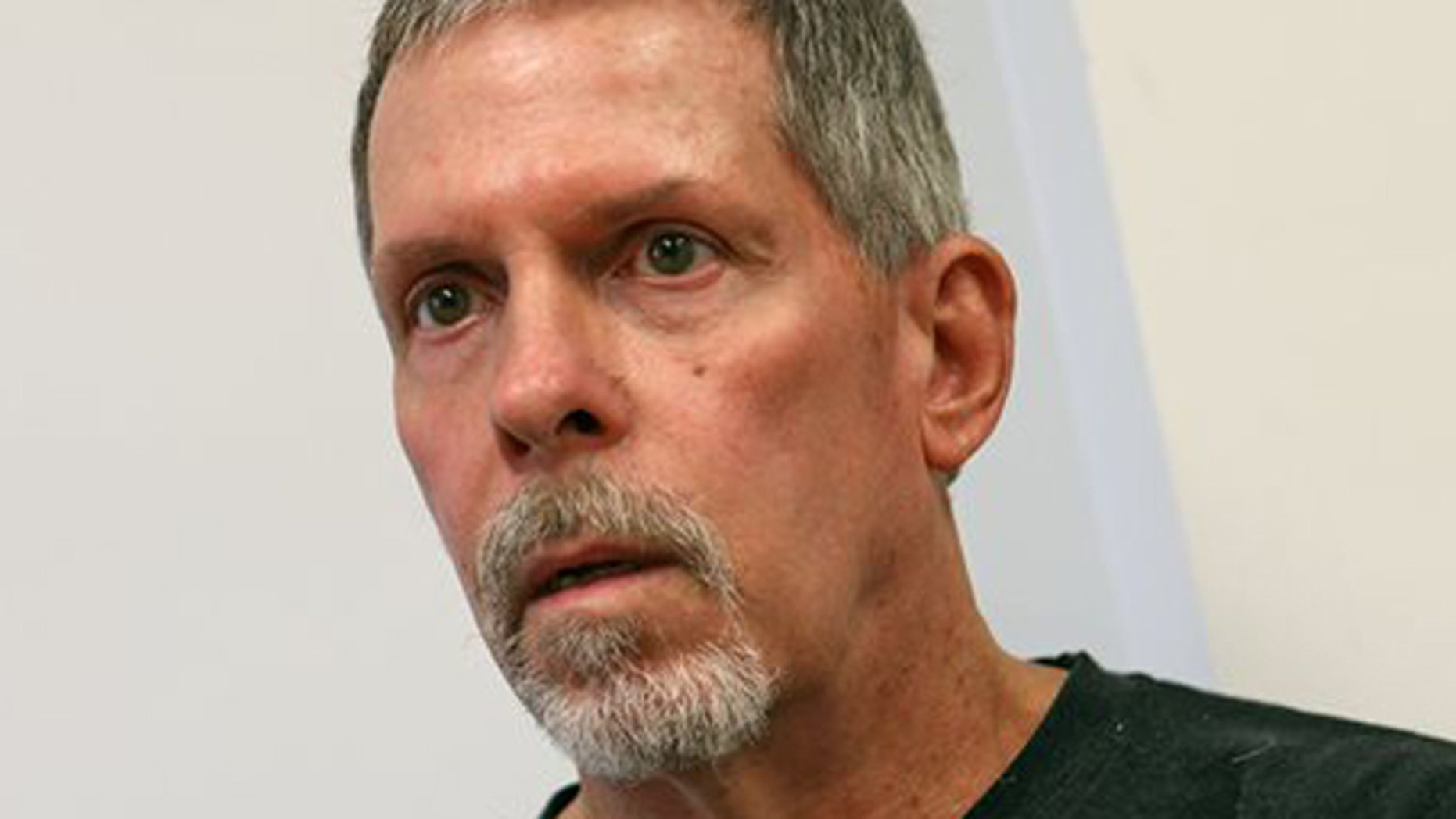 June 28, 2013: Michael Boatwright, who refers to himself as Johan Ek, a 61-year-old Florida man who awoke with no memory of his past speaking only Swedish and no English, in Palm Springs, Calif.