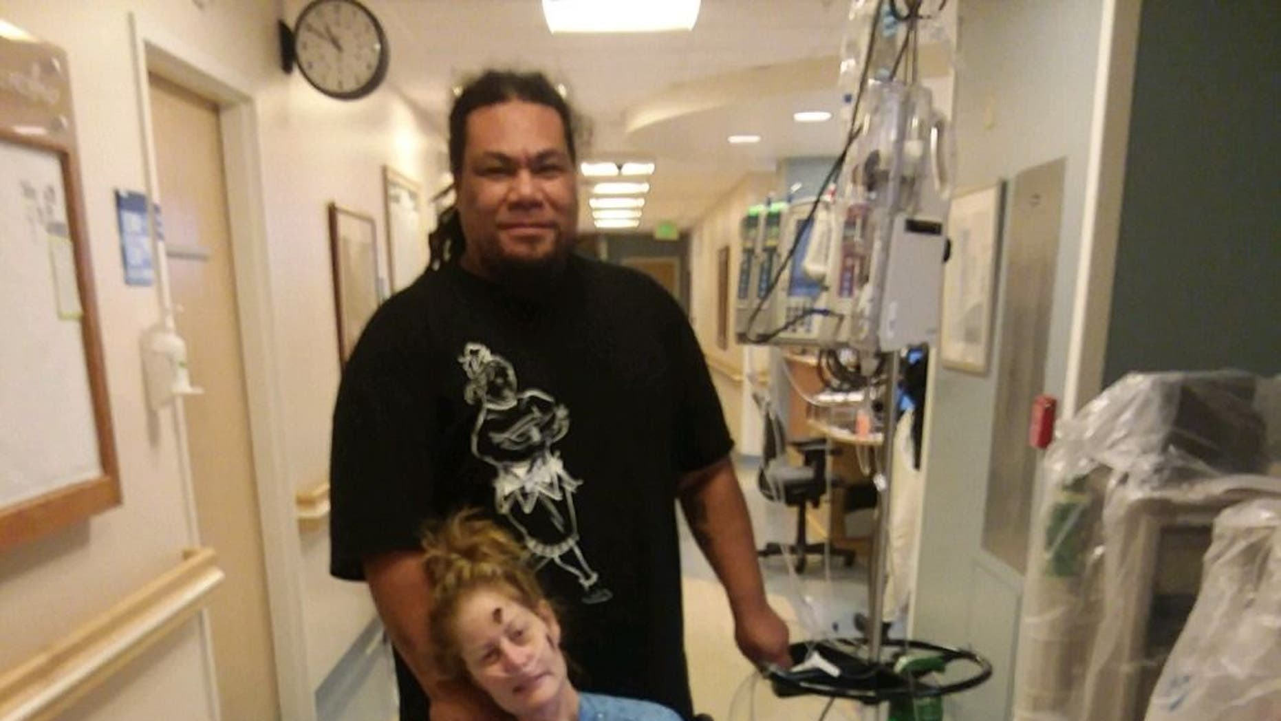 A Utah woman is in the hospital recovering after having both her arms and legs amputated.