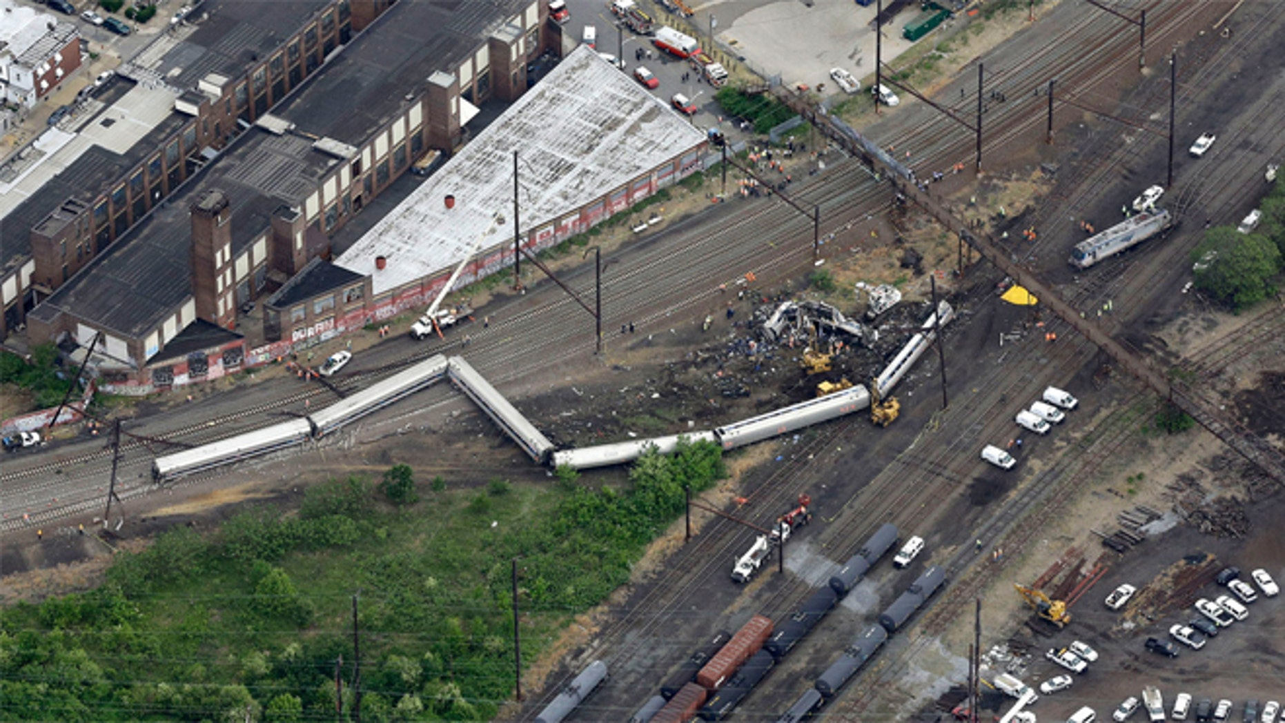 Amtrak Northeast Regional train 188, which was traveling from D.C. to New York, derailed on May 13.