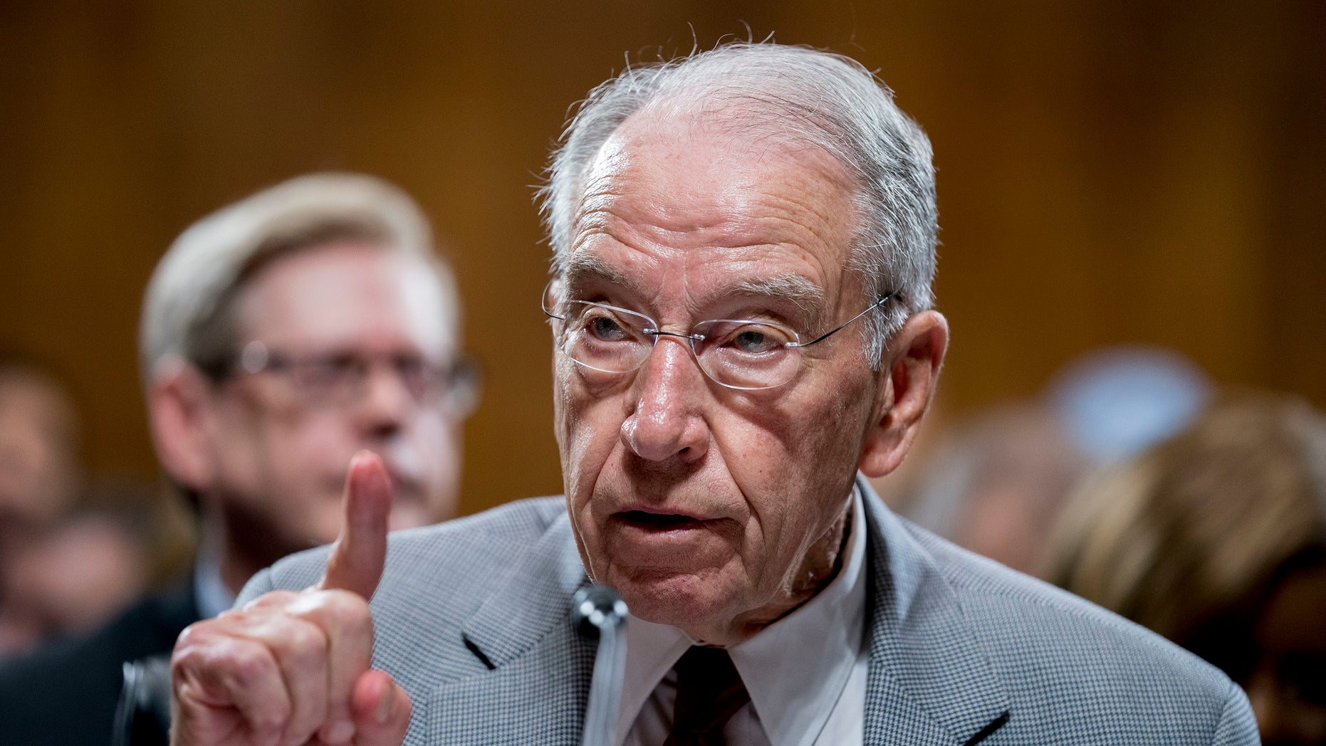 Grassley On Heels Of Kavanaugh Confirmation Pushes Dozens Watch And Latest News In Senate Judiciary Committee Chuck Is The Chairman
