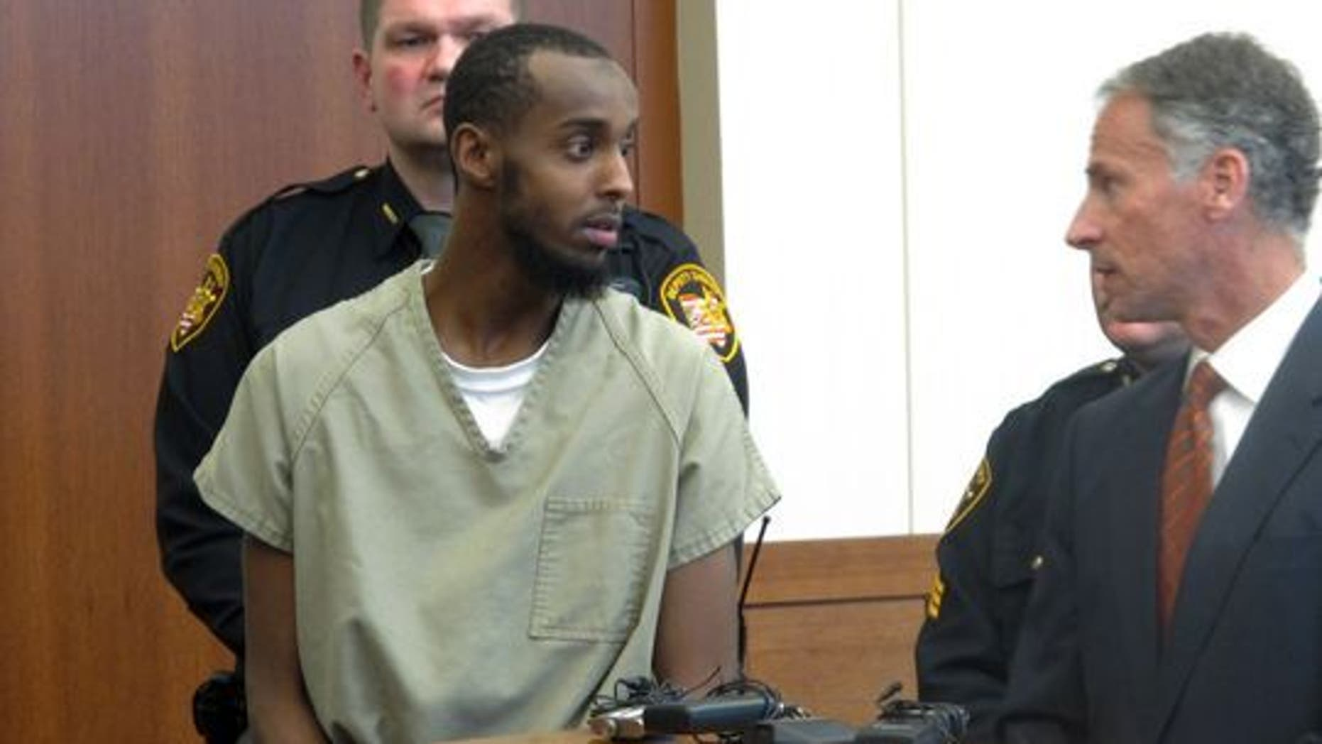 Abdirahman Sheik Mohamud pleaded guilty on all counts of alleged terrorism.