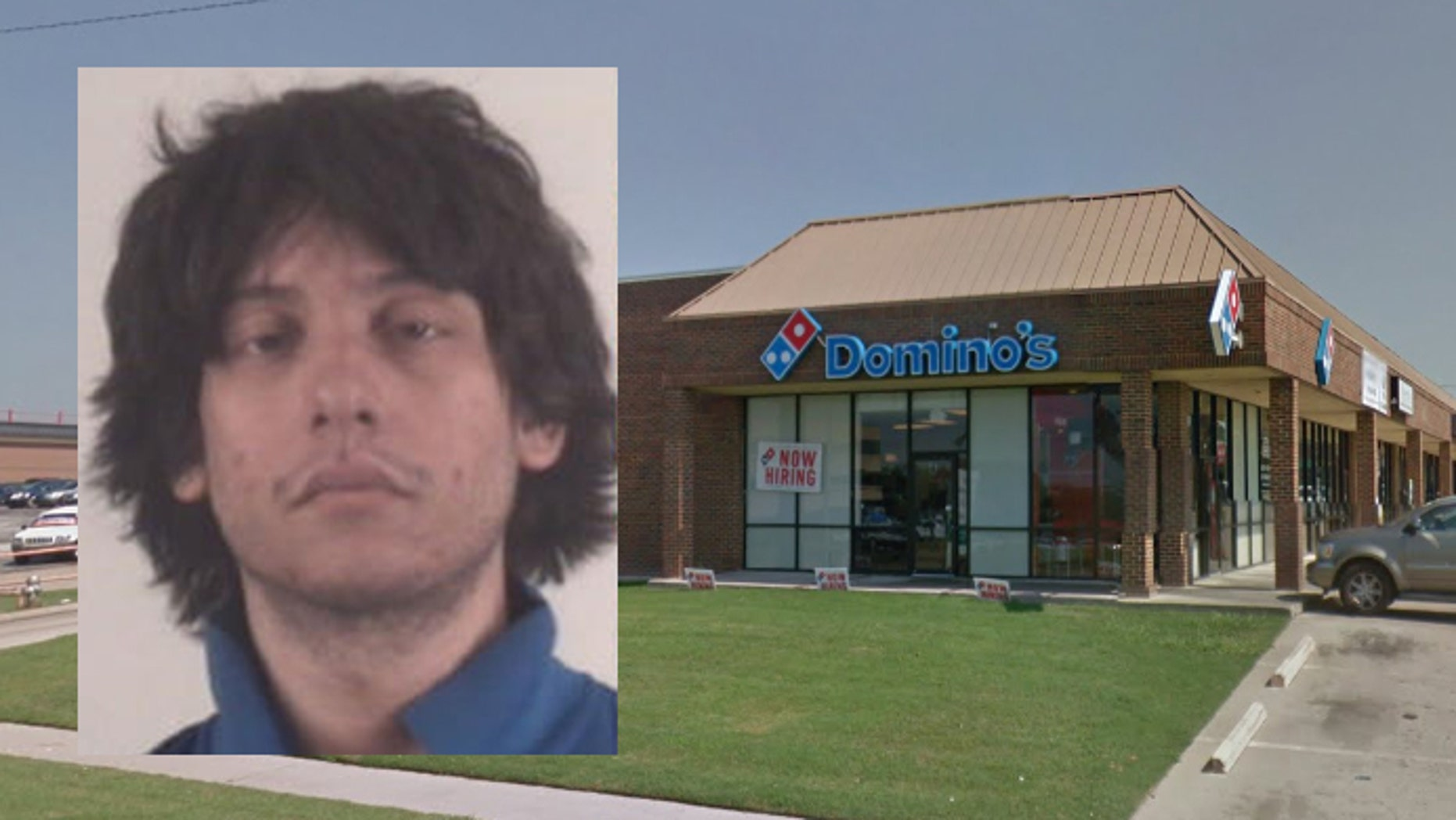 Andrew Peppers, 22, has been charged with aggravated robbery and is currently being held in a Fort Worth jail.