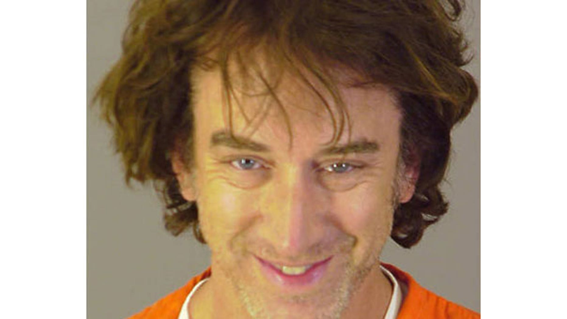Andy Dick 2008 mugshot, after being arrested for suspicion of drug possession and sexual battery. (AP)