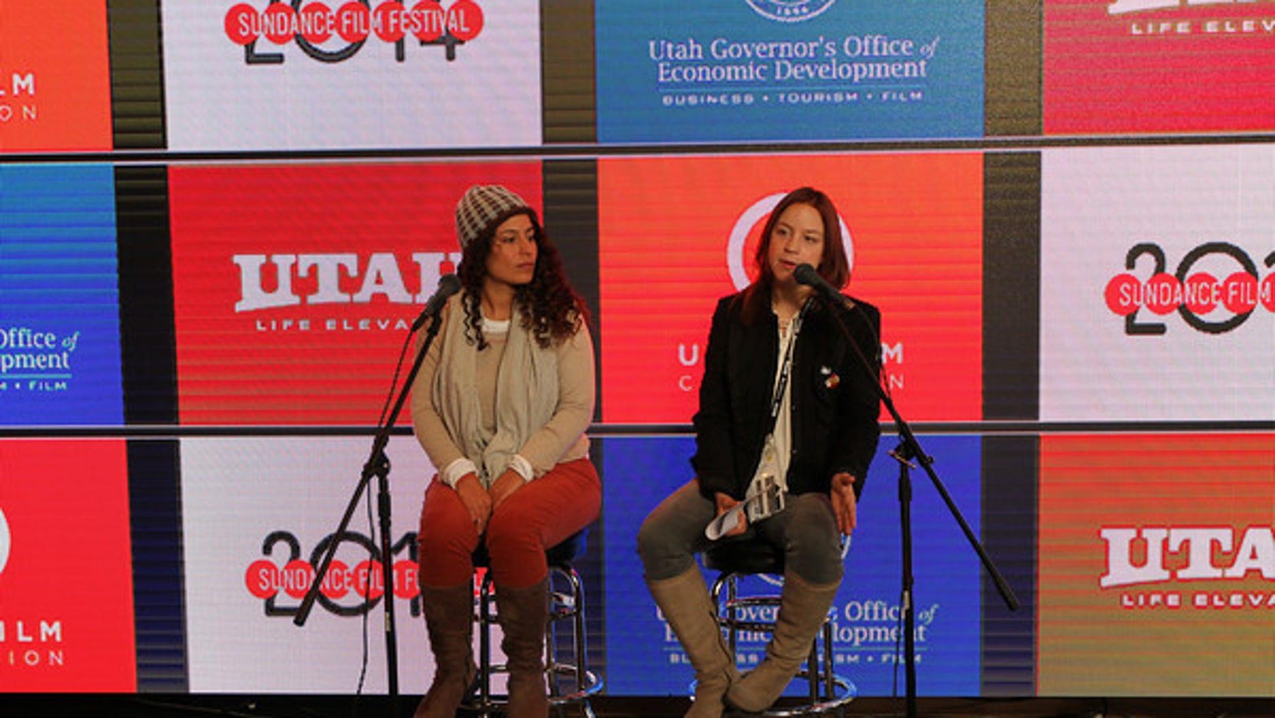 Ambulante California's newly appointed Director, Christine Davila, and Ambulante's Executive Director, Elena Fortes. (Courtesy: Angela Santos)