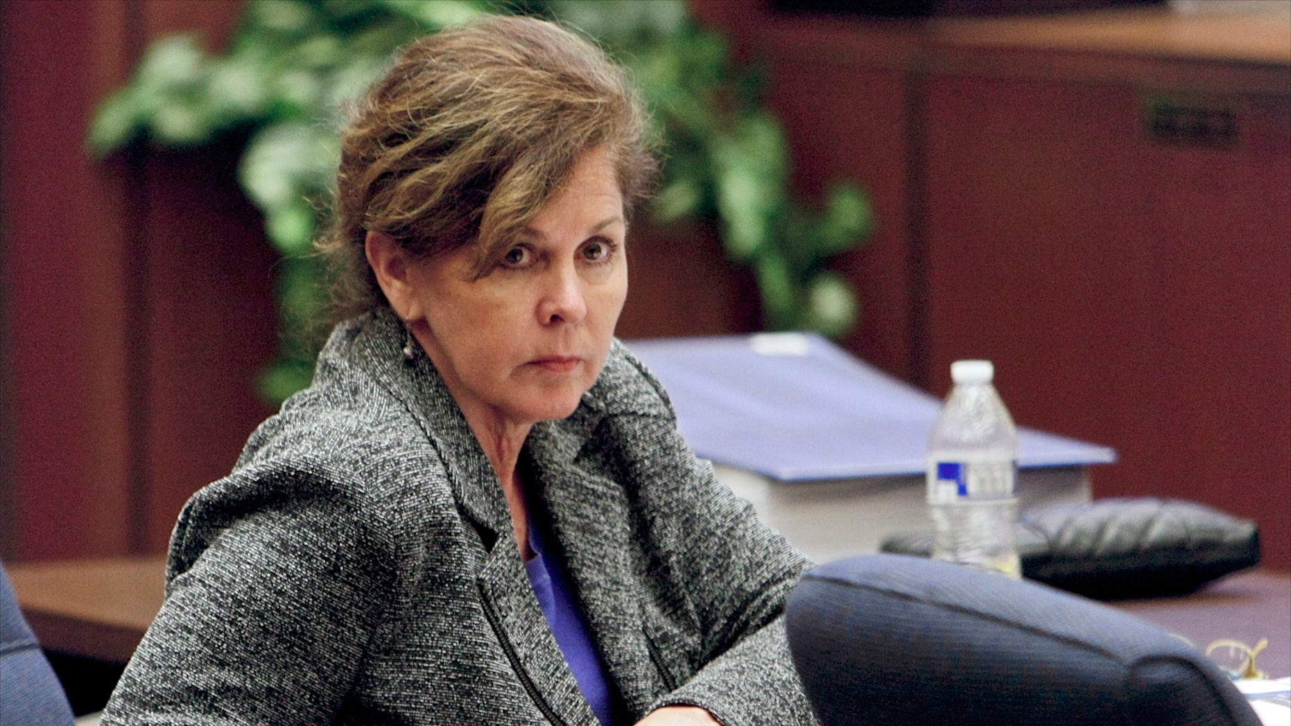 Oct. 23, 2013: Former assistant city manager of Bell, Calif., Angela Spaccia appears in Los Angeles Superior Court.