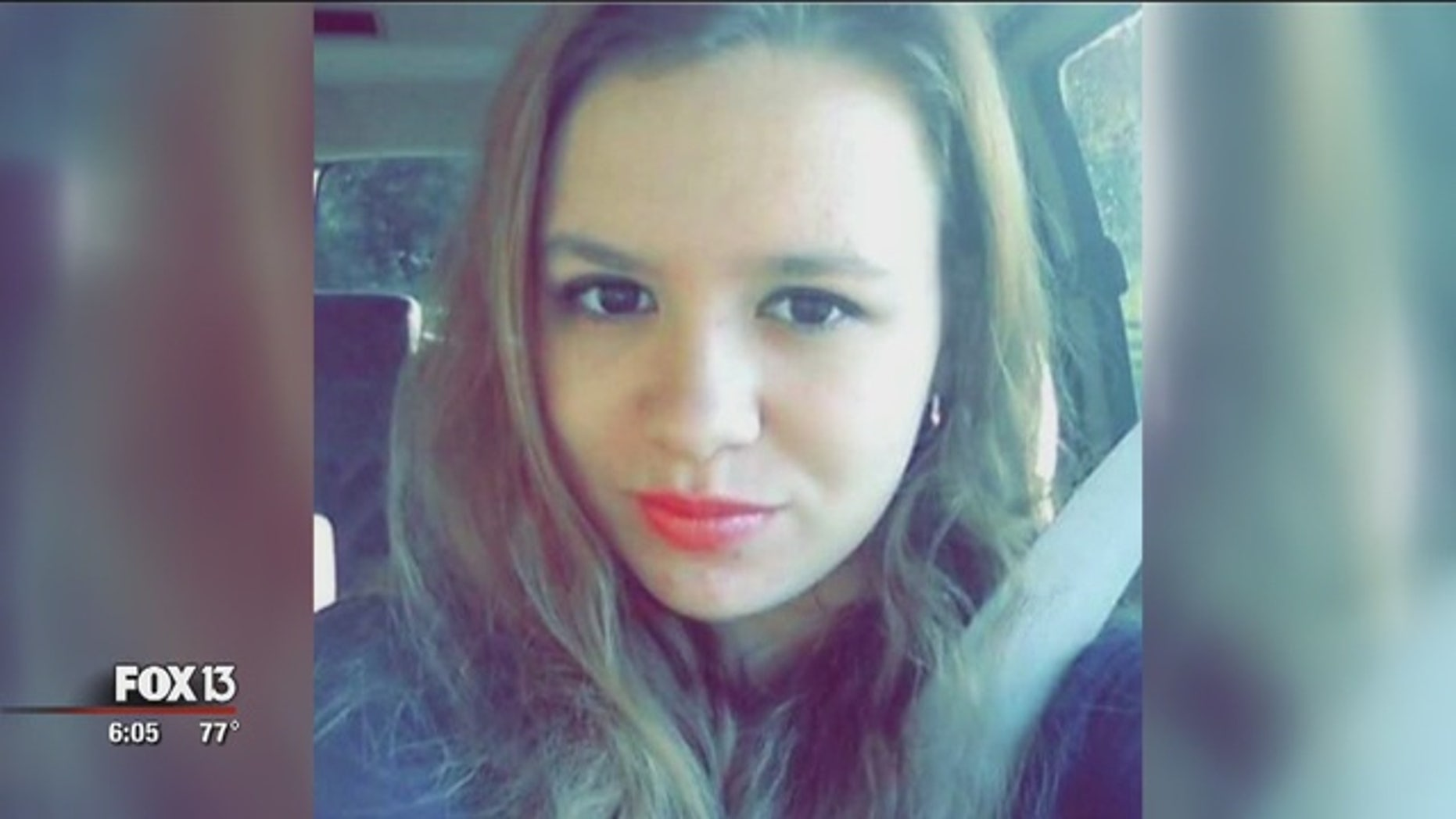 Angelina Holloway's death is now the focus of an anti-texting and driving campaign in Florida.