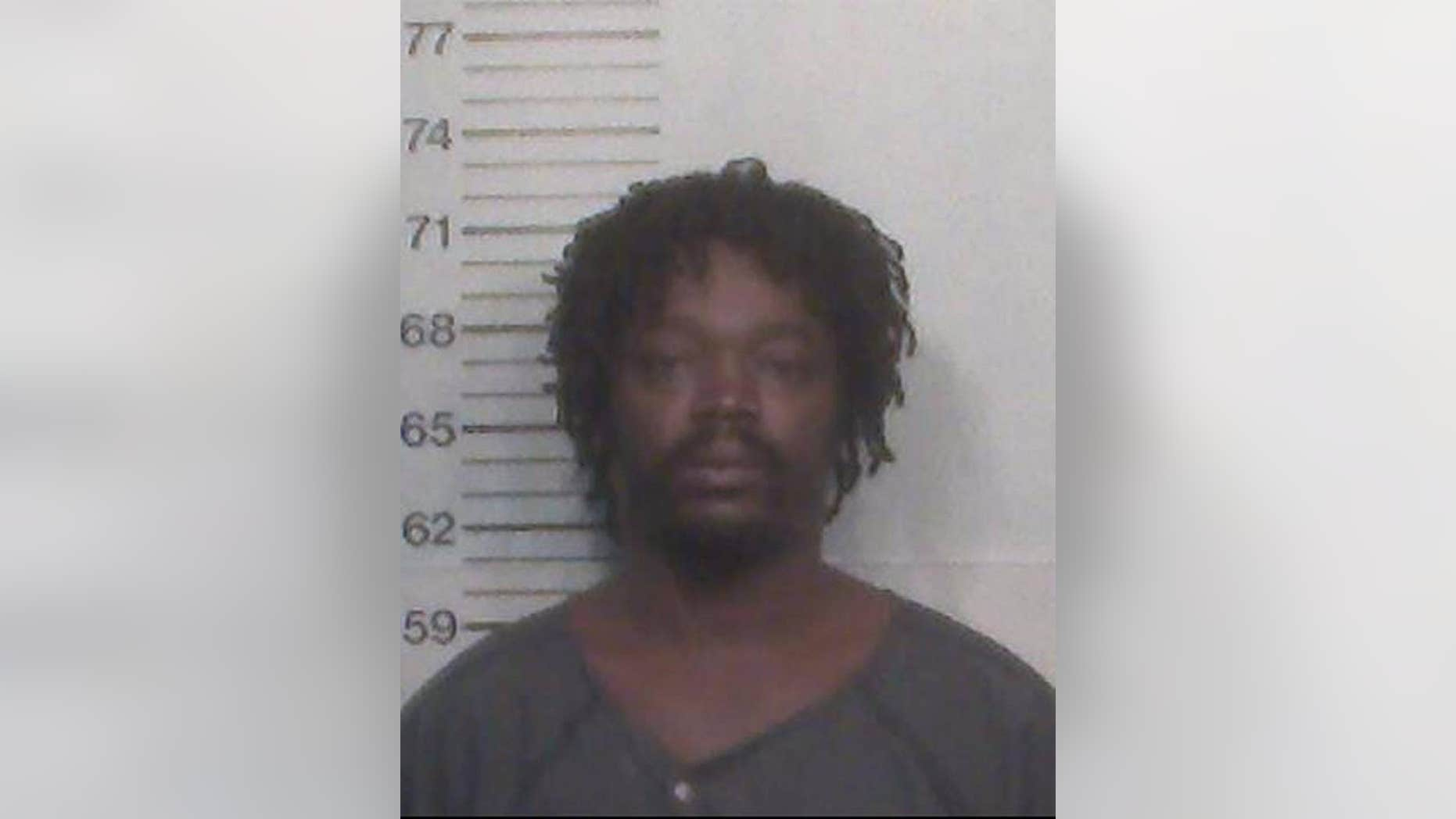 Angelo Mitchell is accused of leaving his daughter outside during Hurricane Irma.