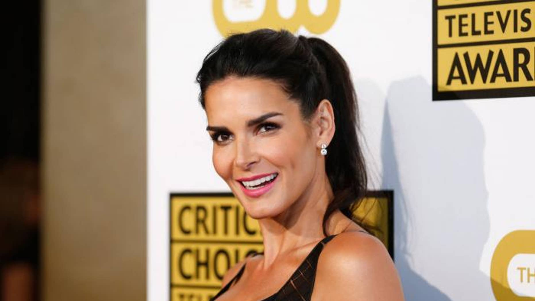 Angie Harmon went on Instagram on Sunday to gush about her new boyfriend Greg Vaughan, complimenting him for recently taking care of her when she didn't feel well.