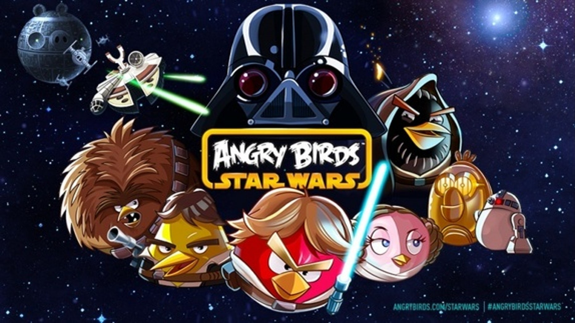 """""""Angry Birds Star Wars,"""" which will be released Nov. 8, 2012, features the characters, stories and settings of the beloved """"Star Wars"""" films."""